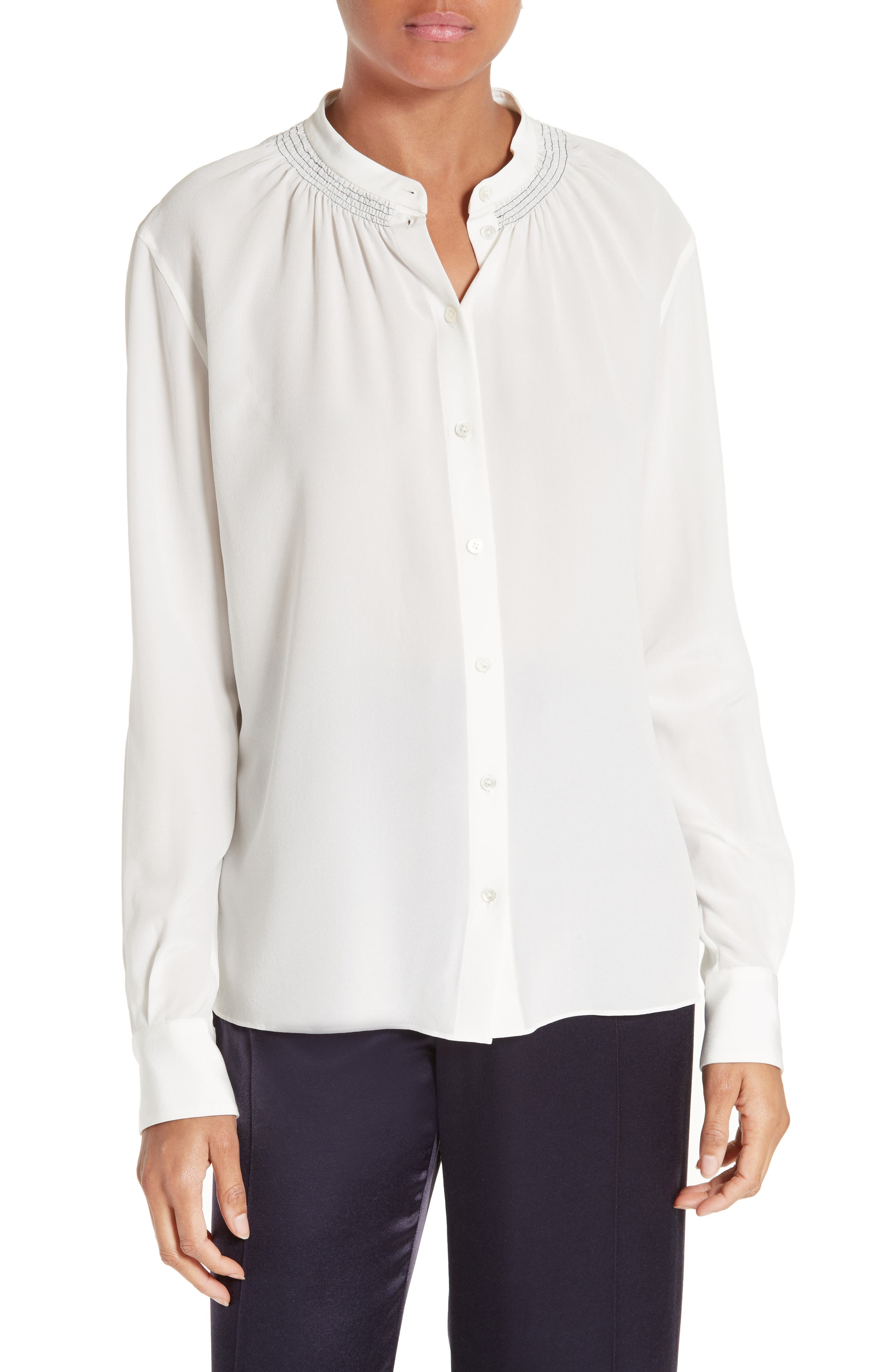 JOSEPH Stan Silk Blouse