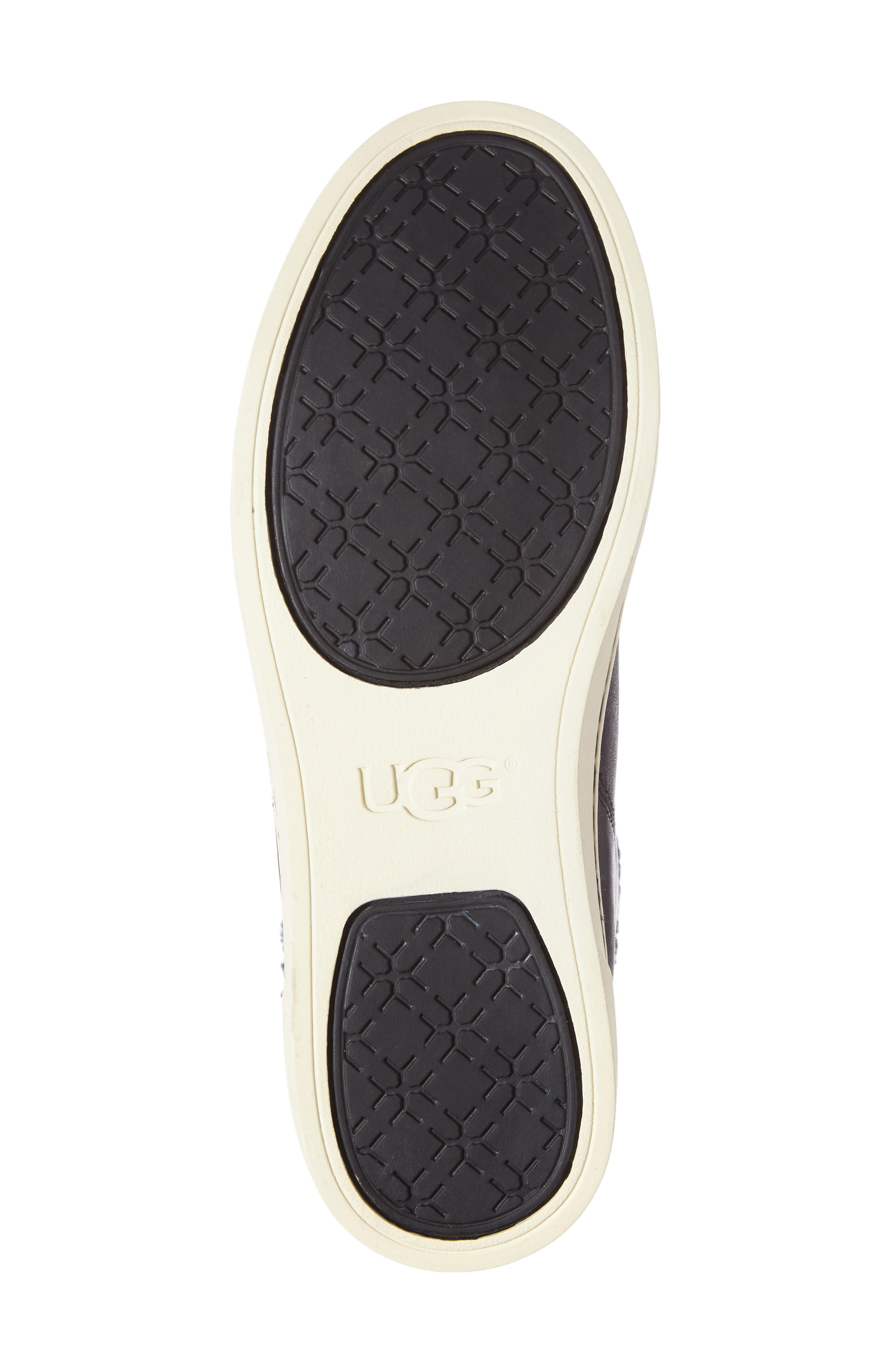 Alternate Image 4  - UGG® Croft Exotic Velvet Sneaker