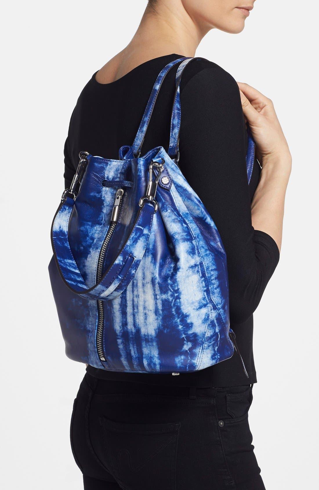 Alternate Image 2  - Elizabeth and James 'Cynnie' Tie Dye Sling Backpack
