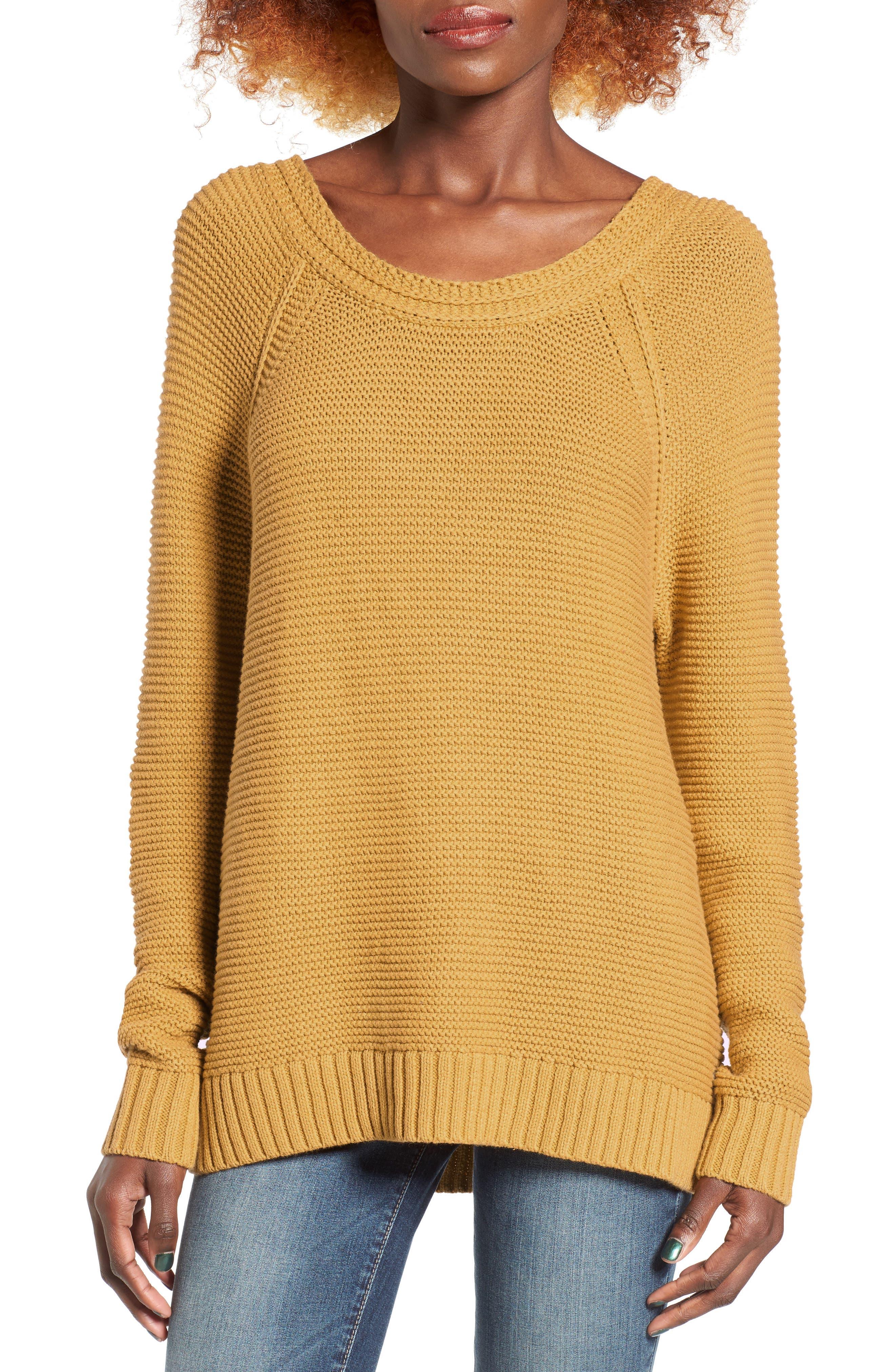Alternate Image 1 Selected - Roxy Lost Coastlines Knit Sweater