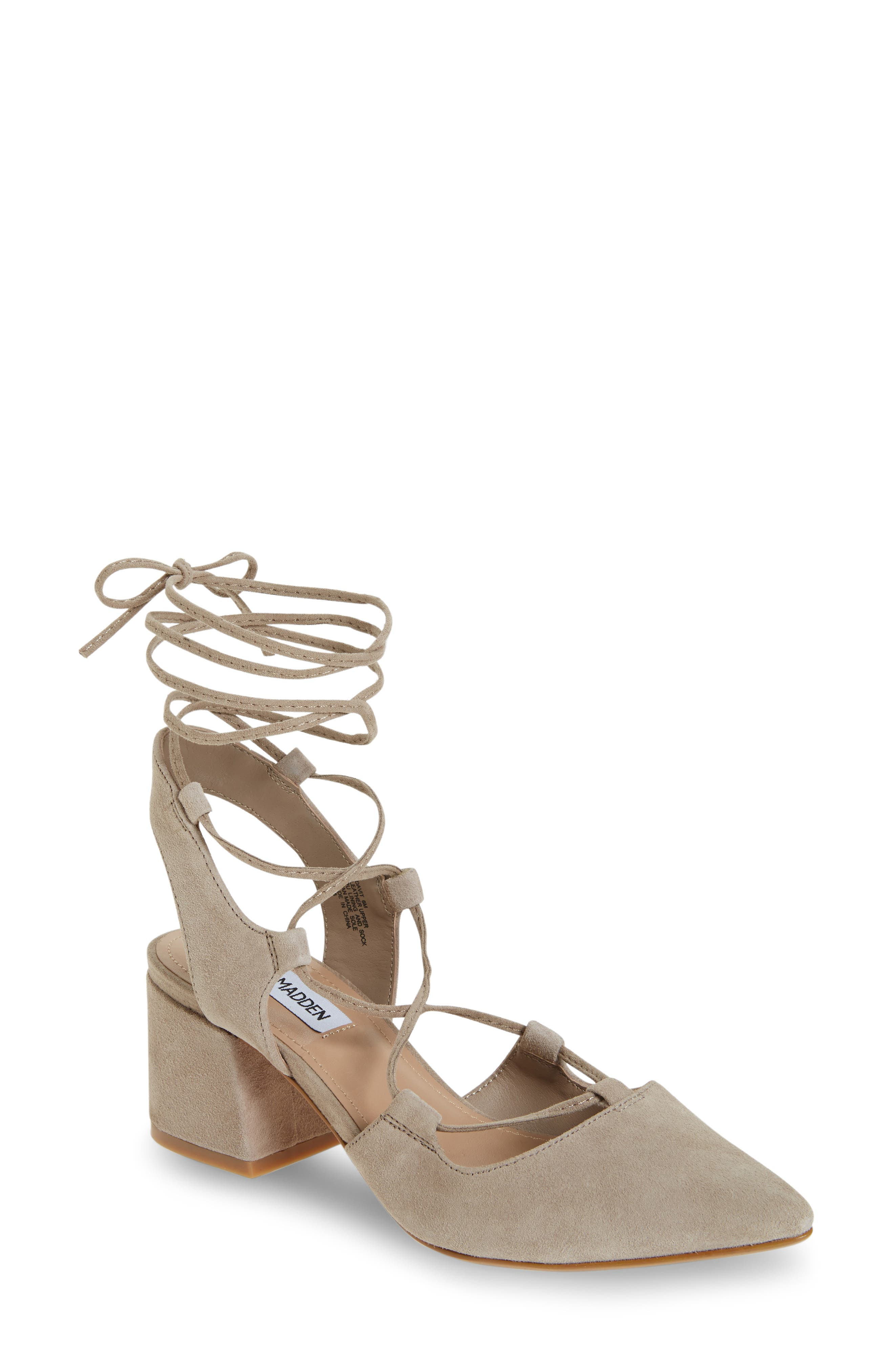 Alternate Image 1 Selected - Steve Madden Davit Lace-Up Pump (Women)