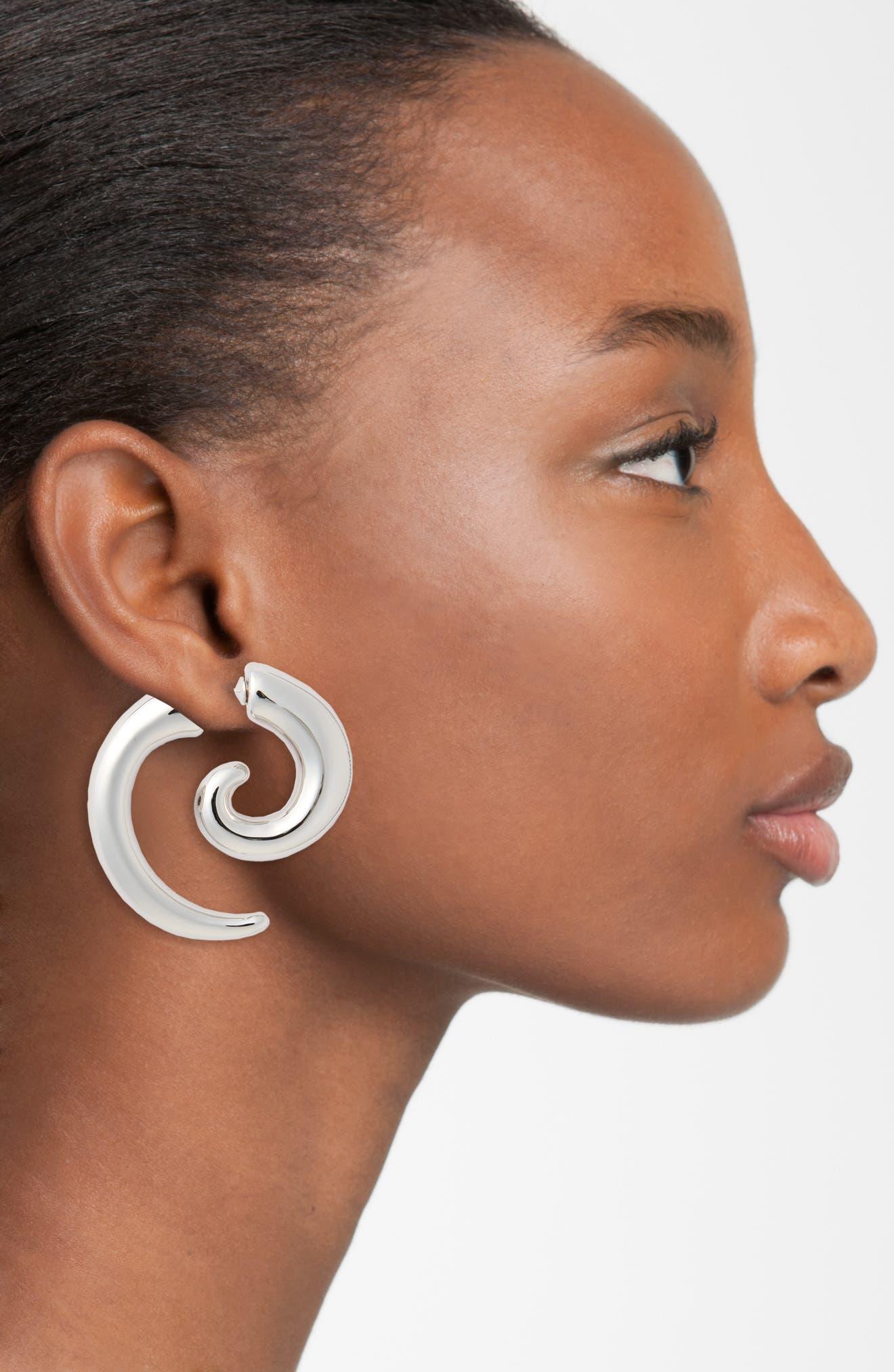 Alternate Image 2  - Vetements Spiral Illusion Earring