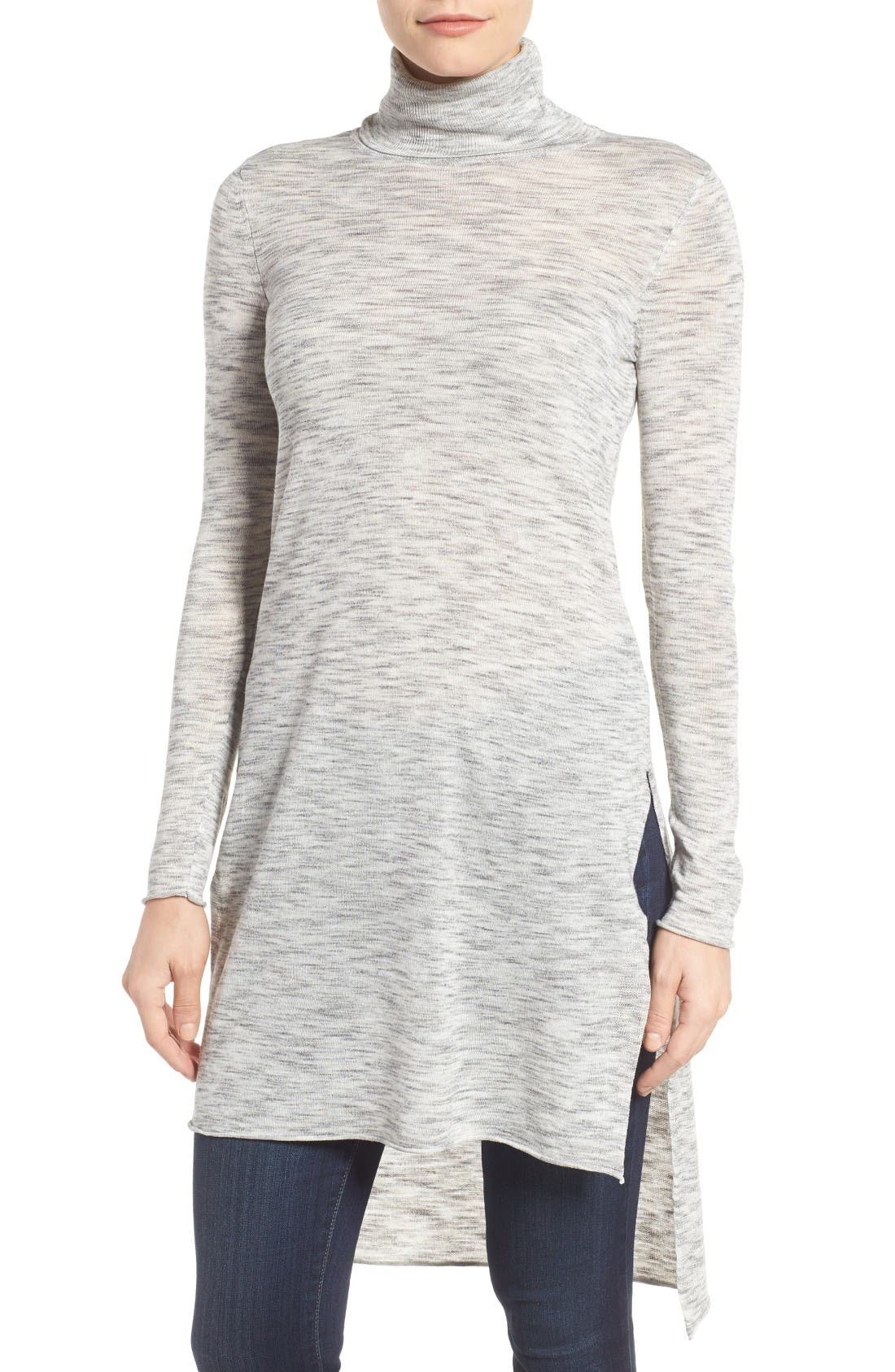Main Image - Dex Turtleneck Tunic Sweater
