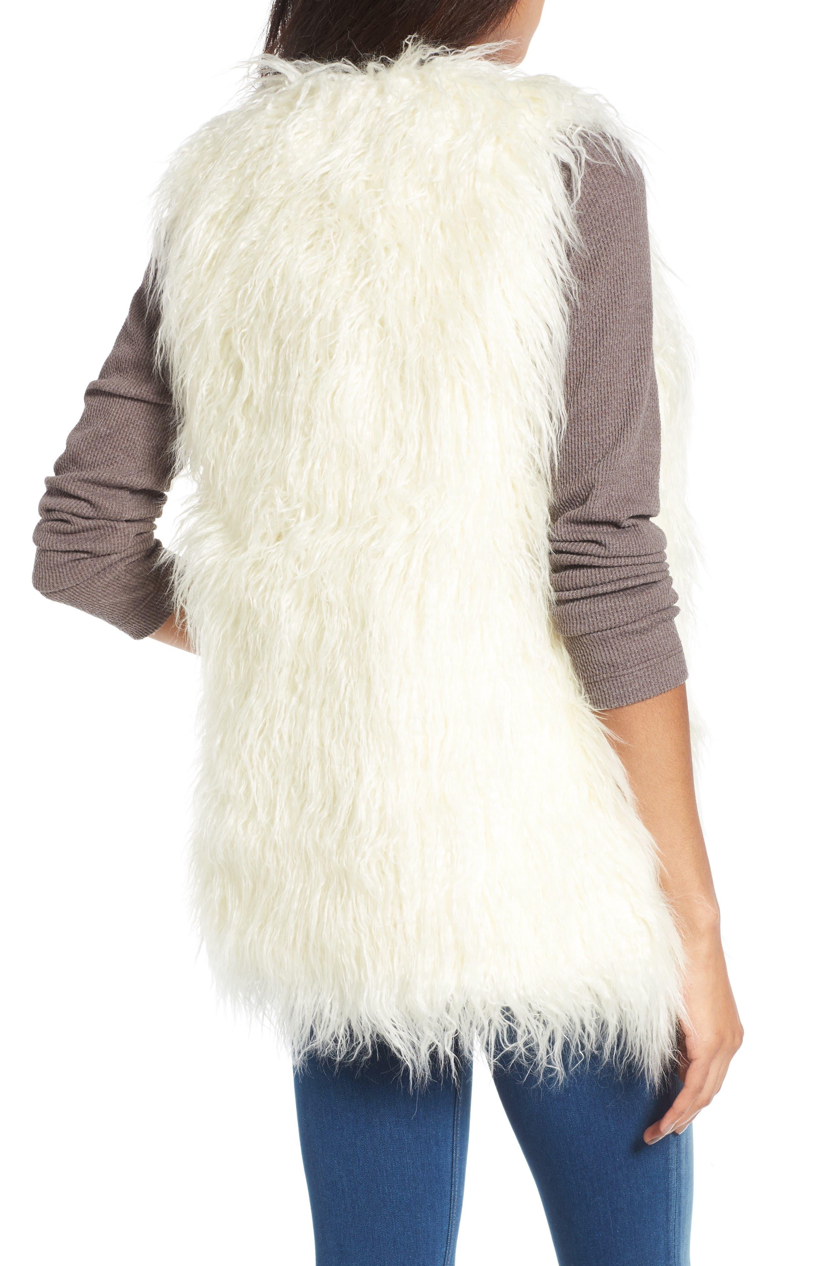 Alternate Image 2  - Hinge Faux Fur Vest