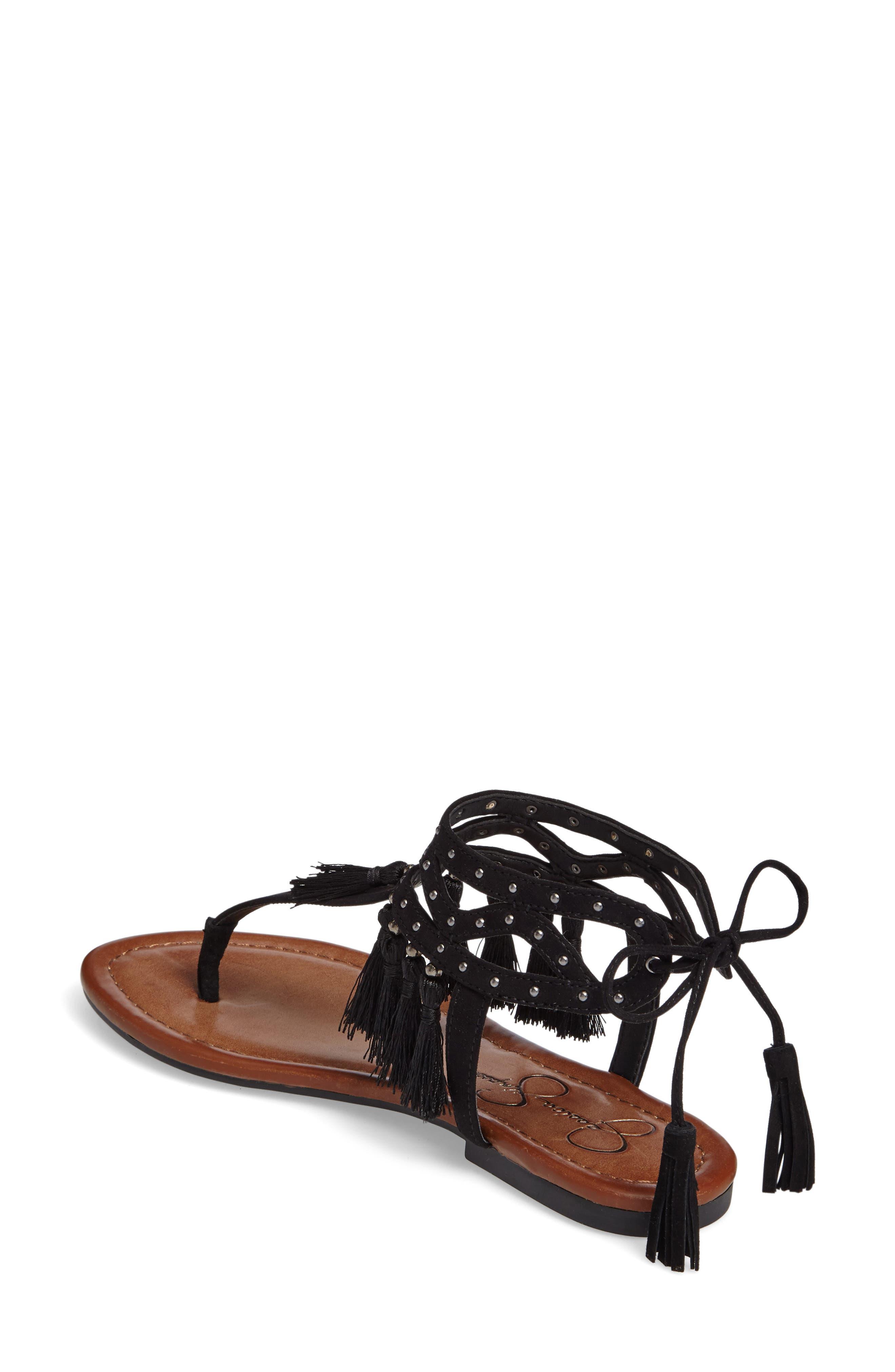 Alternate Image 2  - Jessica Simpson Kamel Studded Tassel Sandal (Women)
