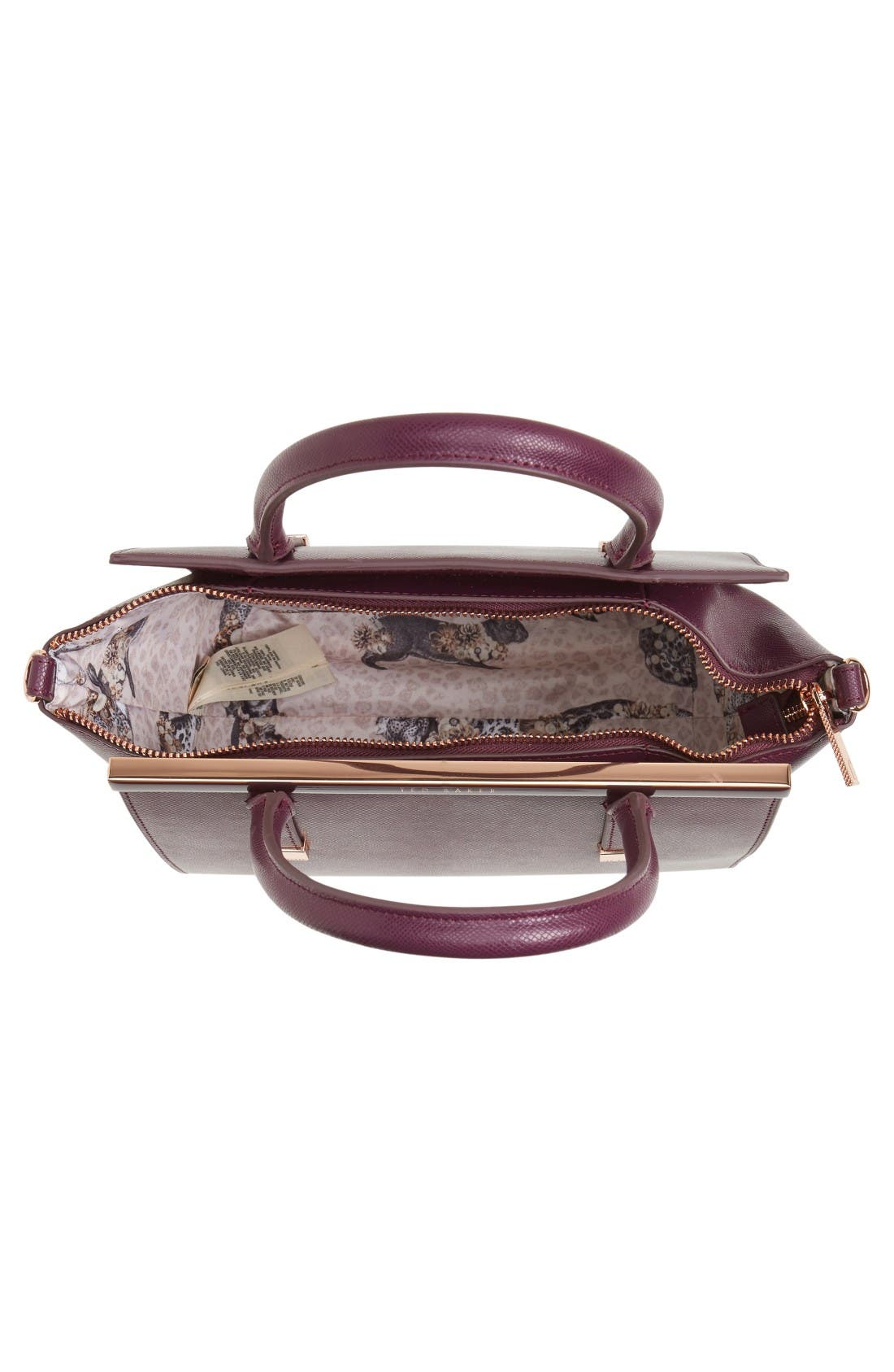 Alternate Image 3  - Ted Baker London Tabatha Leather Satchel