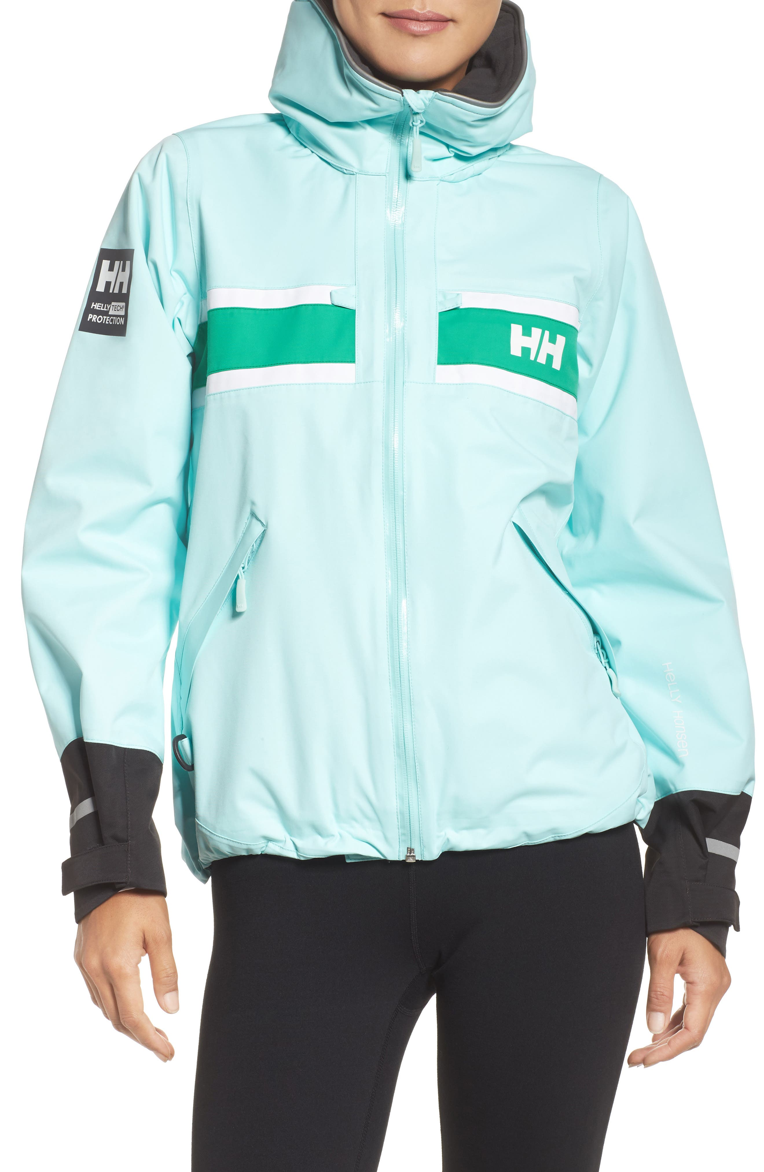 Helly Hansen 'Salt' Waterproof Hooded Jacket