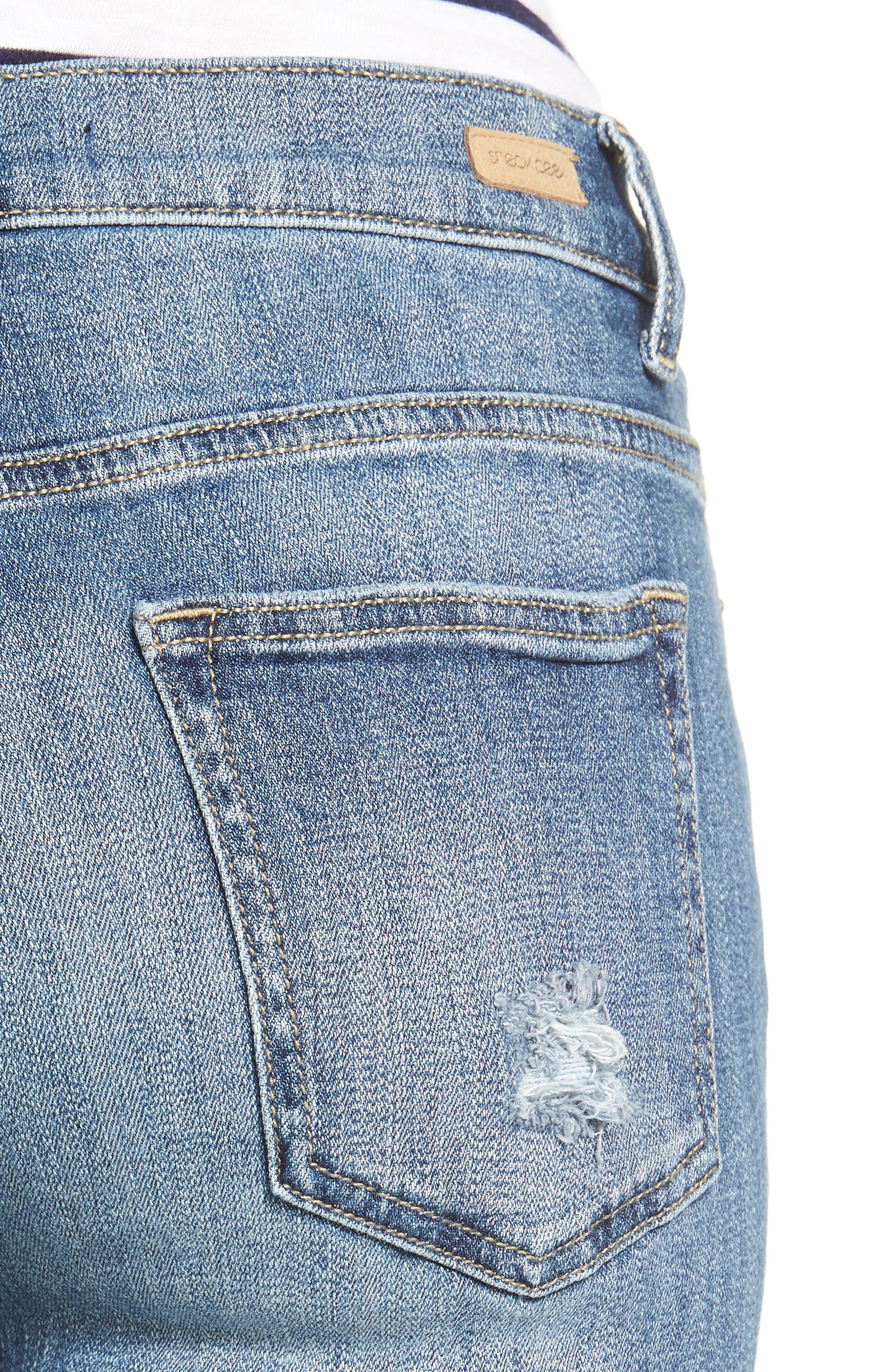 Alternate Image 4  - SP Black Decon Destroyed Boyfriend Jeans