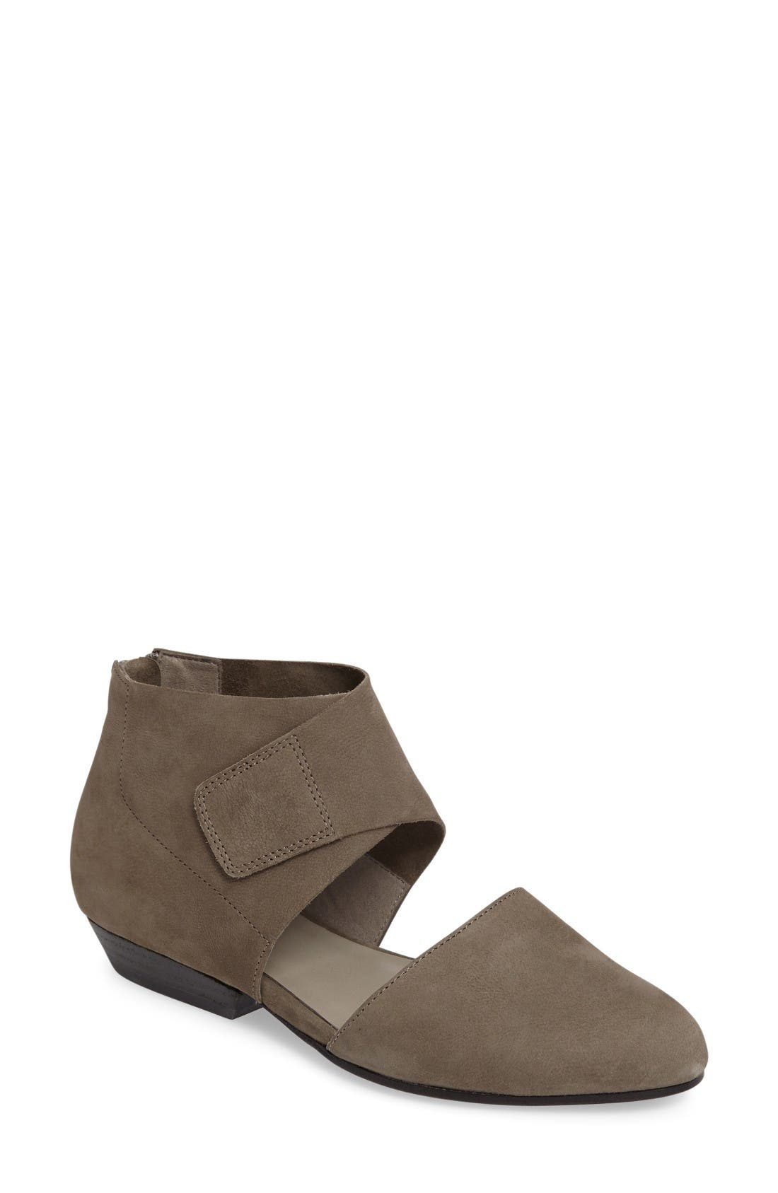 Main Image - Eileen Fisher Calia Ankle Cuffed Flat (Women)