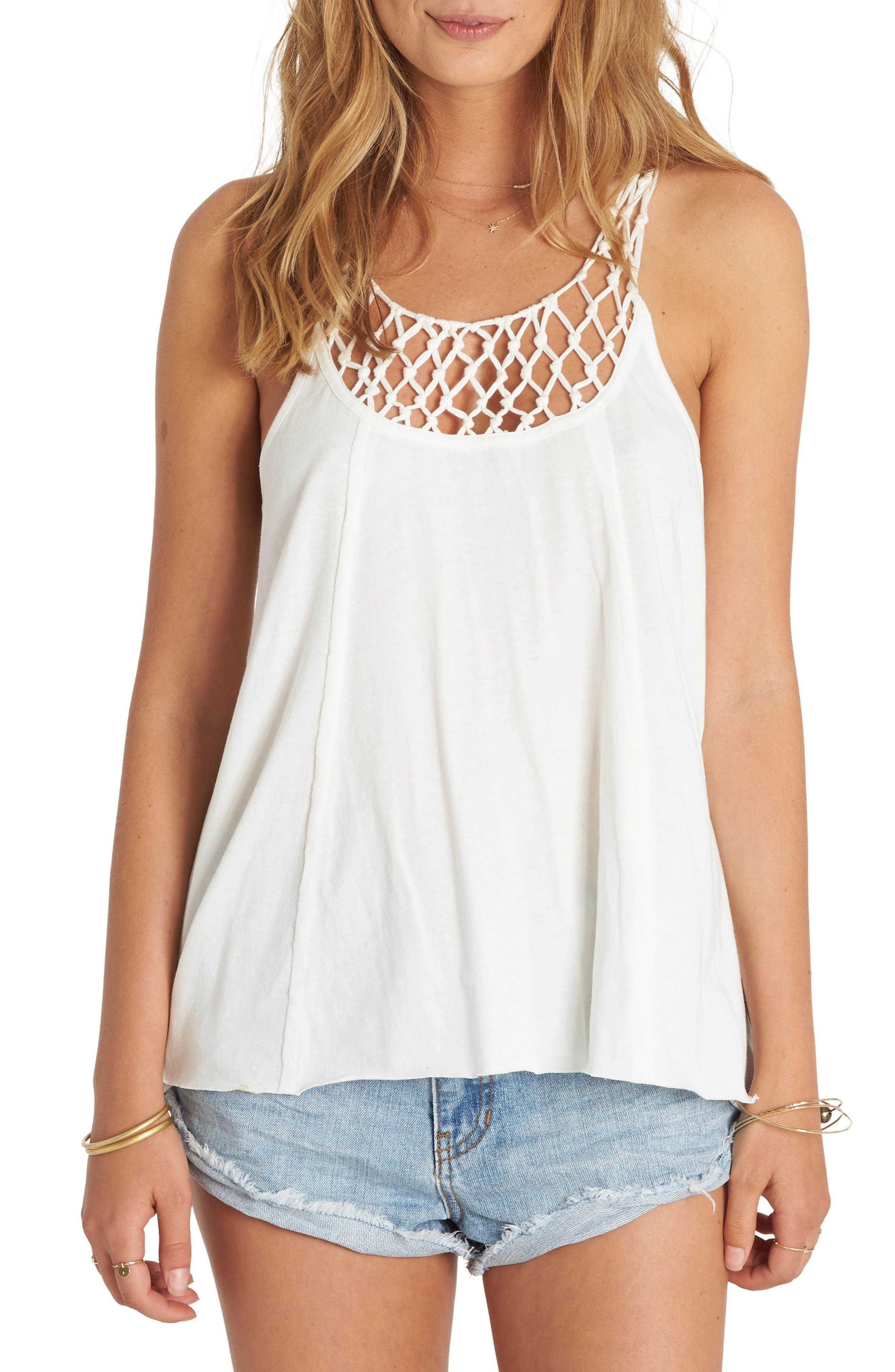 BILLABONG Knotted Neckline Tank