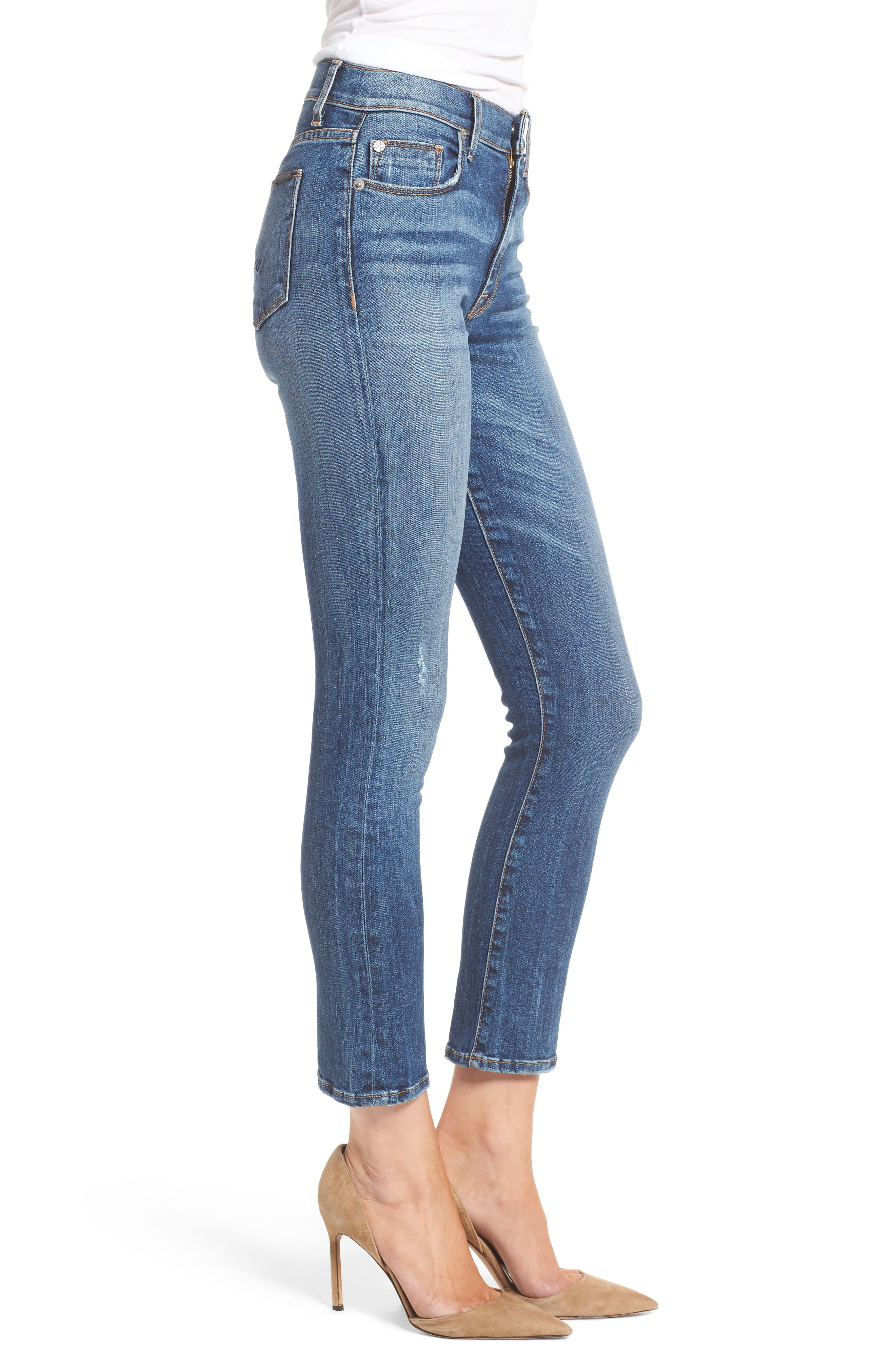 Alternate Image 3  - Hudson Jeans Harper High Waist Crop Flare Jeans (Lifeline)