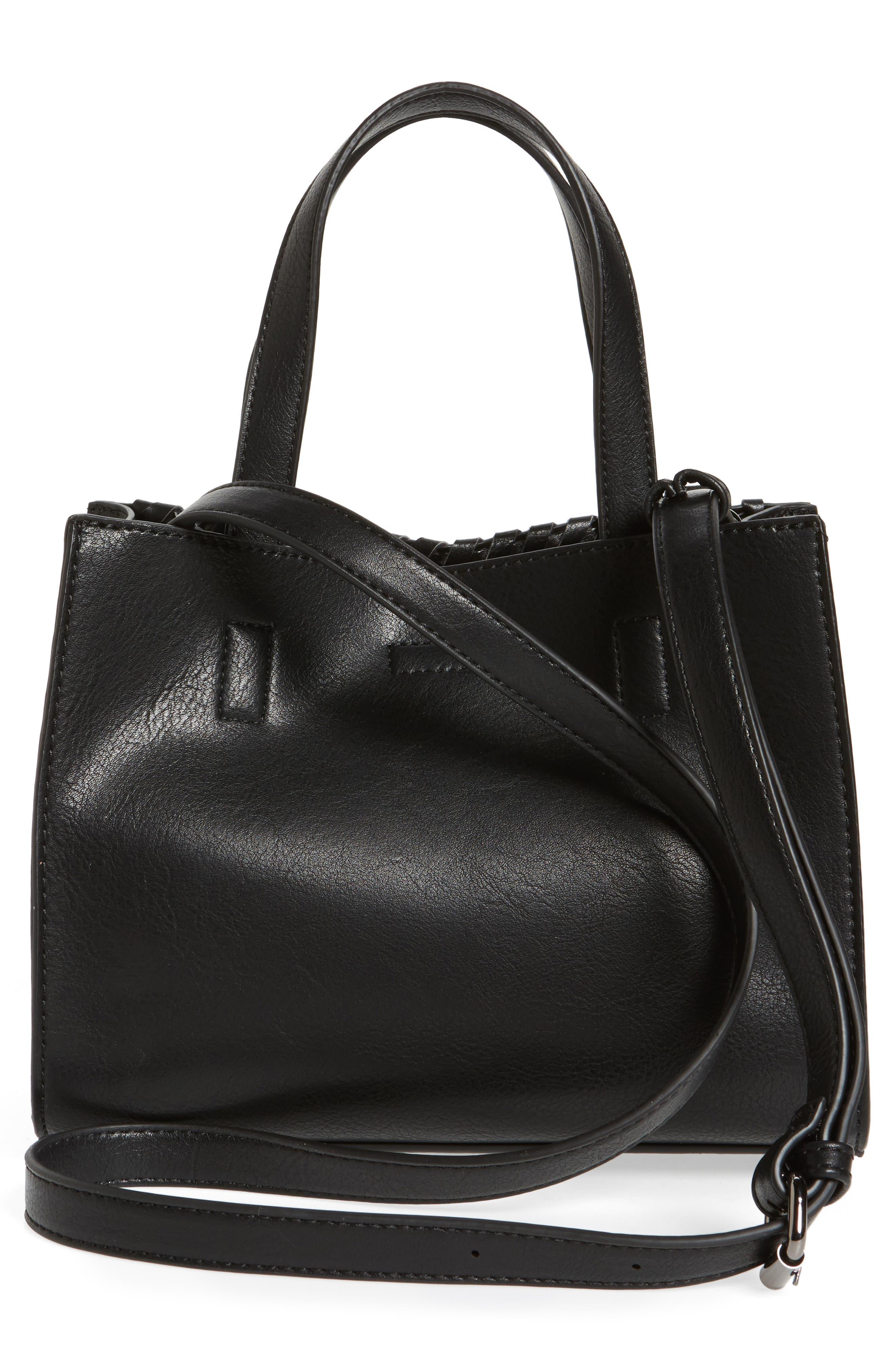 Alternate Image 3  - BP. Studded Faux Leather Crossbody Bag