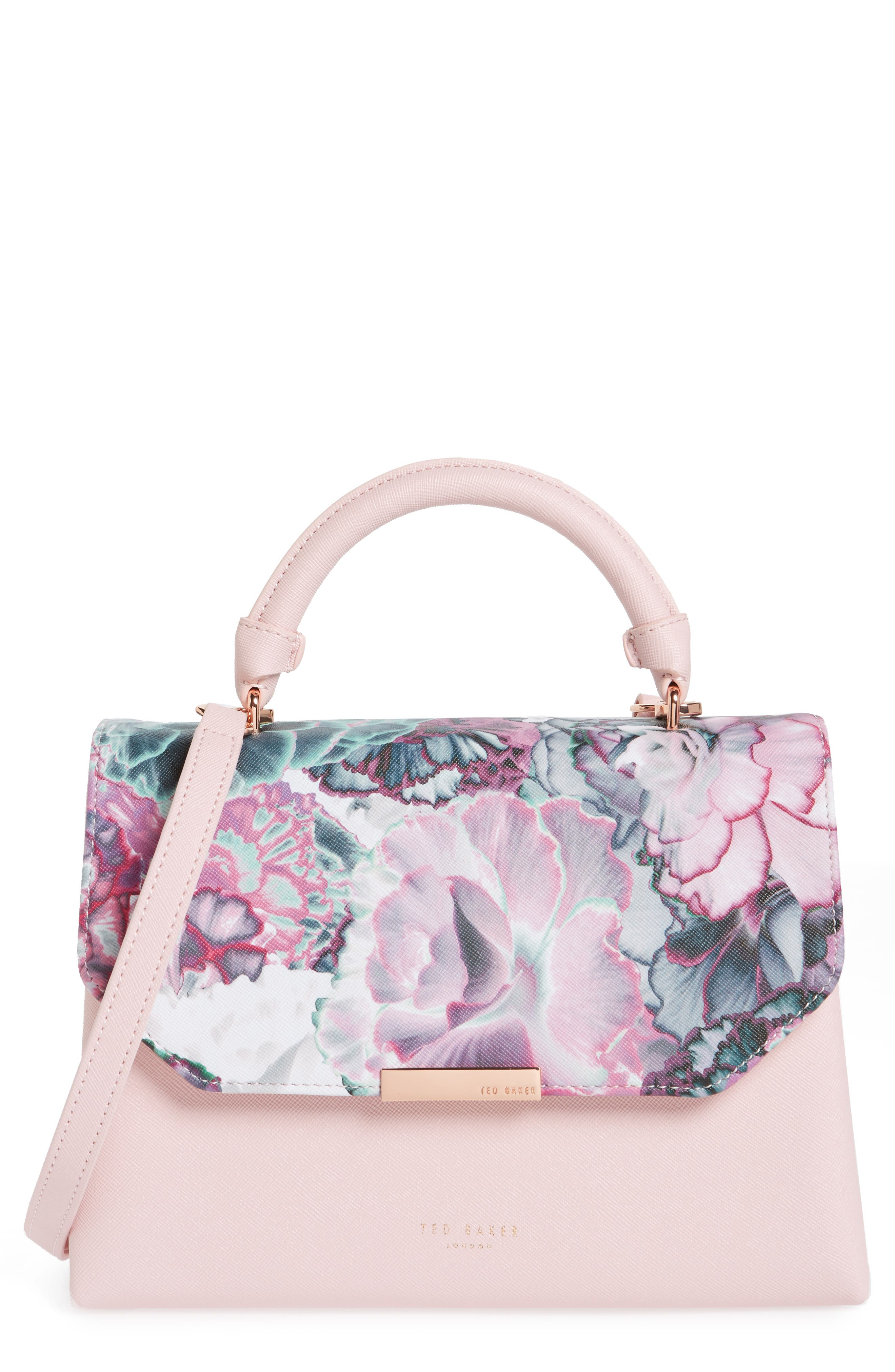Main Image - Ted Baker London Illuminated Bloom Crossbody Bag