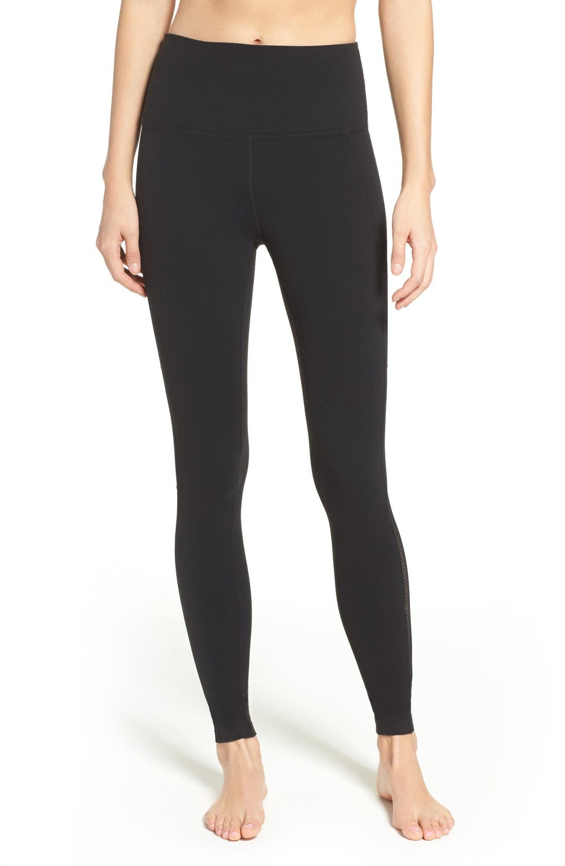 BEYOND YOGA Mesh Inset High Waist Leggings