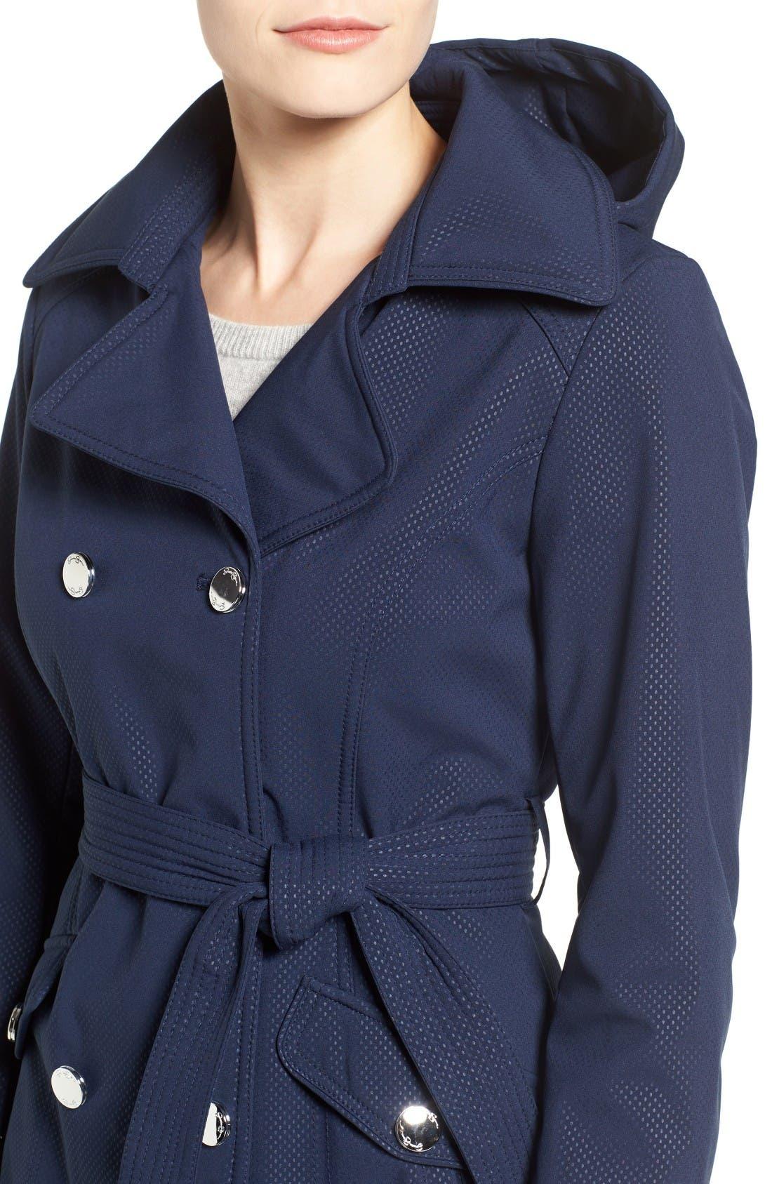 Alternate Image 4  - Jessica Simpson Trench Coat