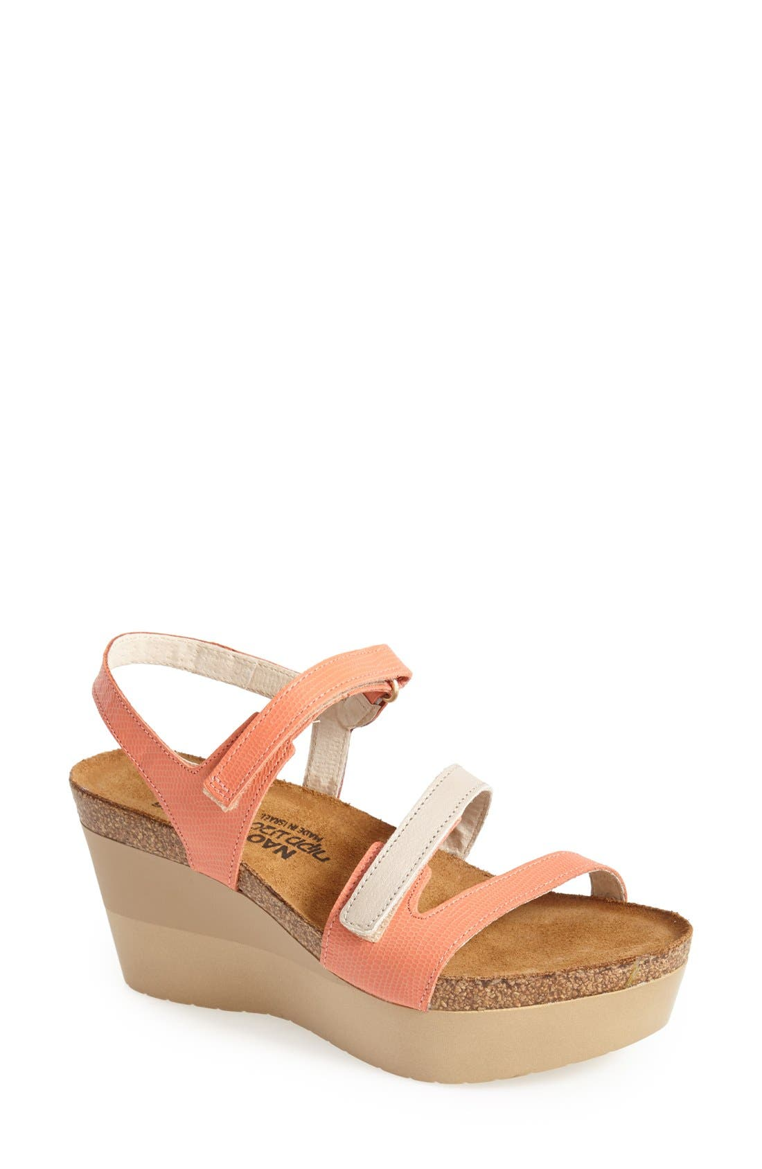 Naot 'Canaan' Wedge Sandal (Women)