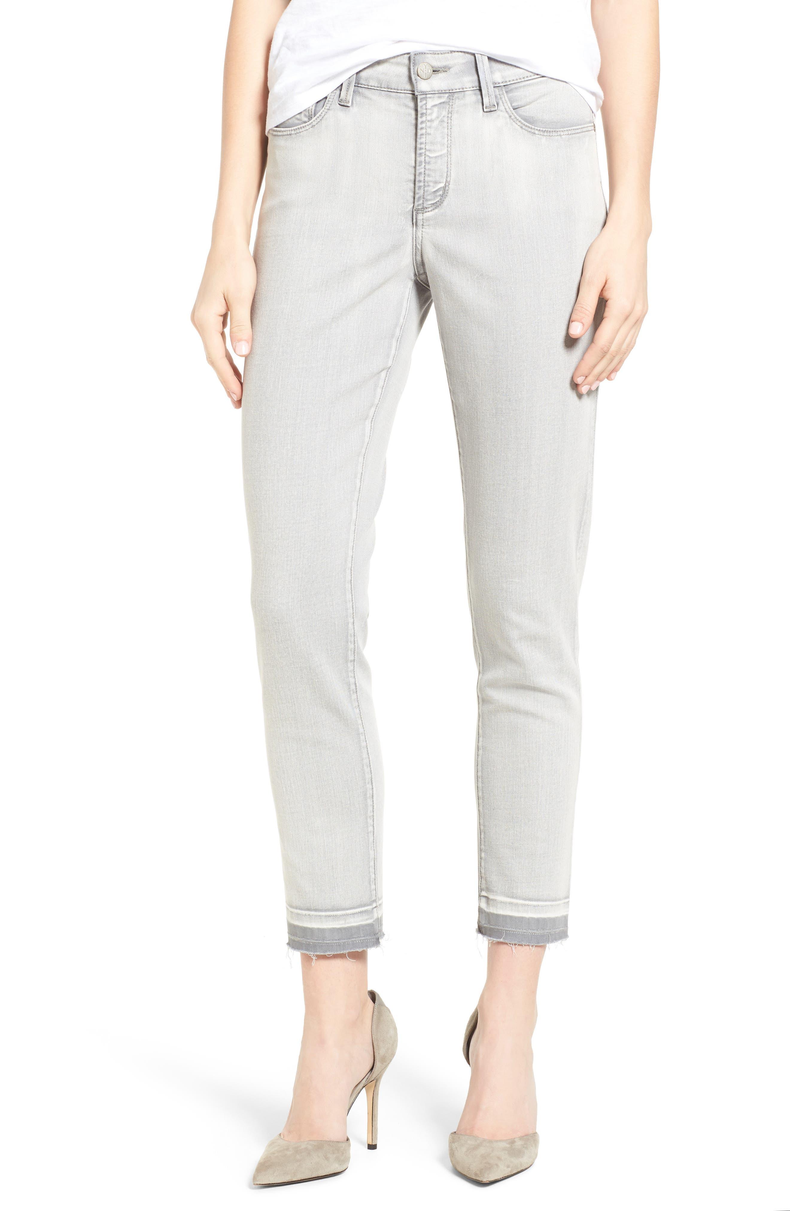 NYDJ Alina Release Hem Stretch Ankle Jeans