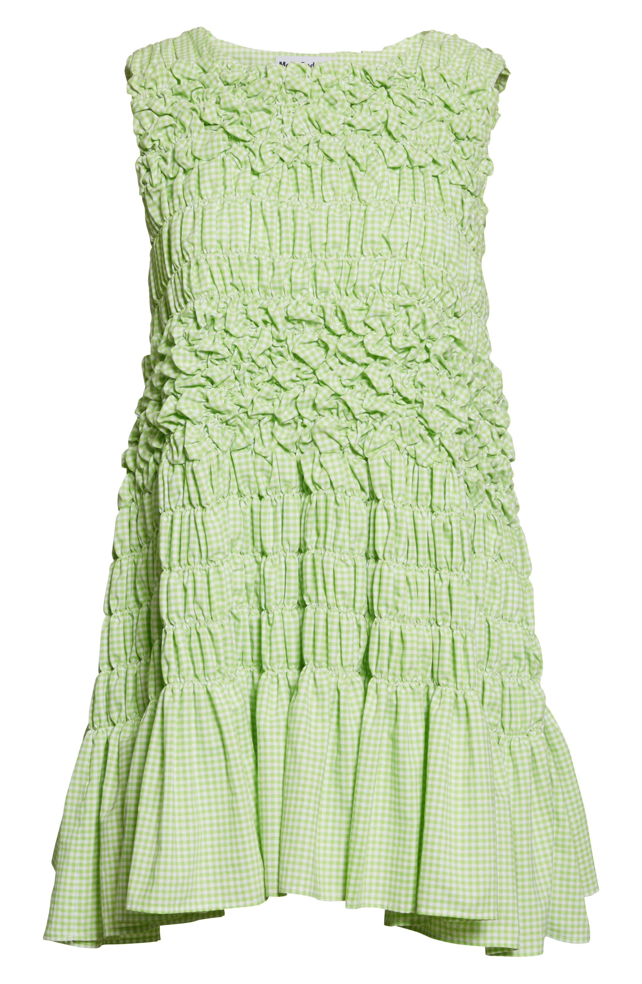 Alternate Image 4  - Molly Goddard Olga Mini Dress