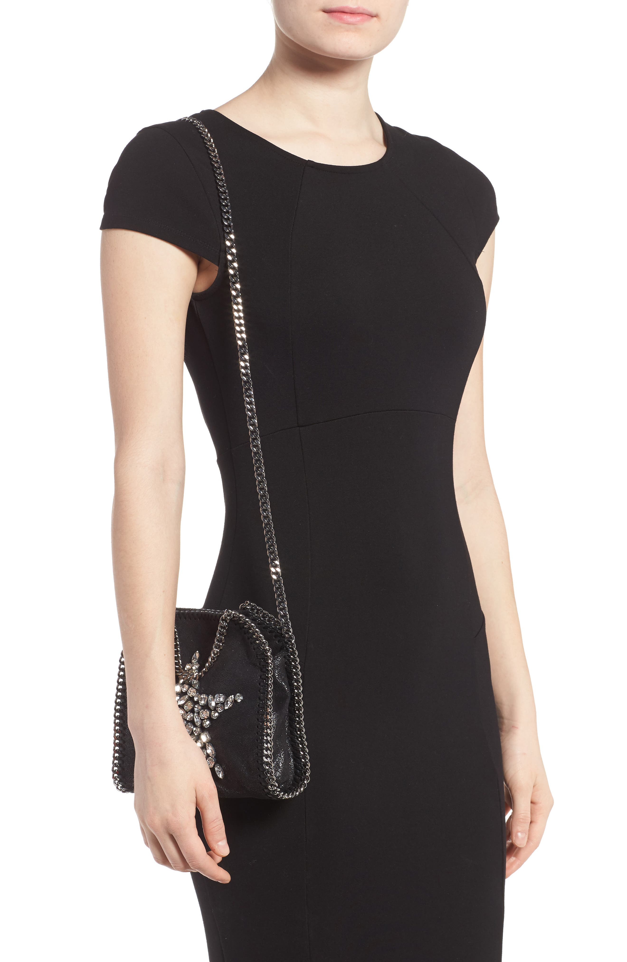 Alternate Image 2  - Stella McCartney Tiny Falabella Faux Leather Crossbody Bag