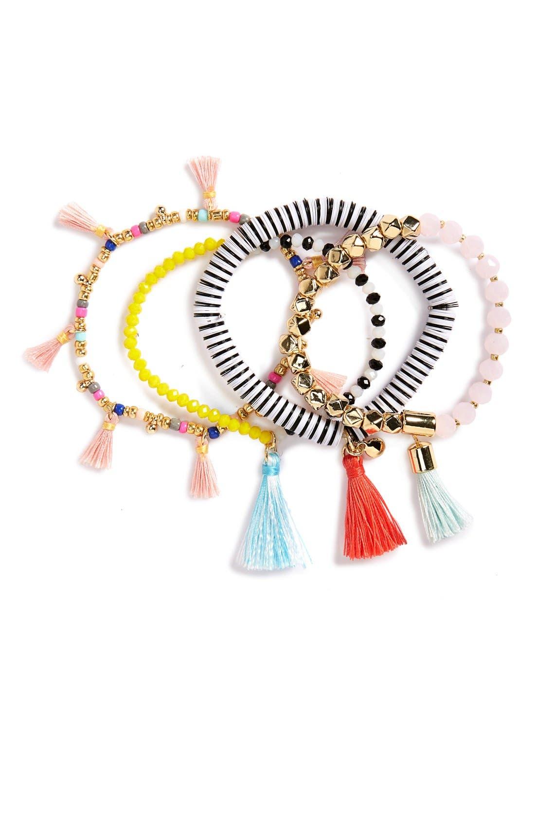 BaubleBar Quinn Set of 4 Bracelets