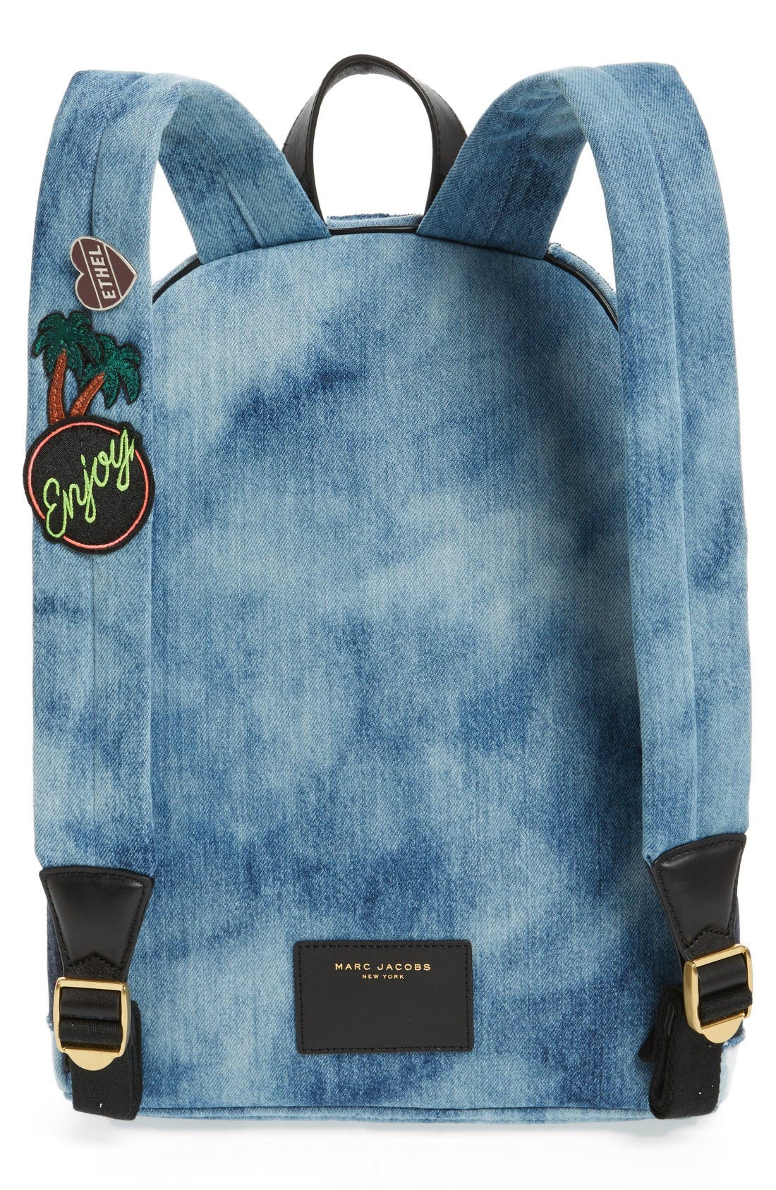 Alternate Image 3  - MARC JACOBS Denim Biker Backpack
