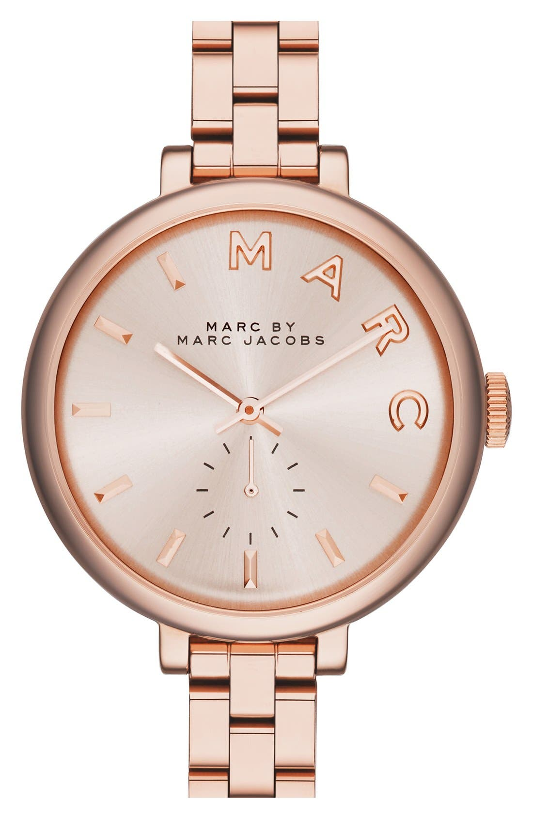 Alternate Image 1 Selected - MARC JACOBS 'Sally' Round Bracelet Watch, 36mm