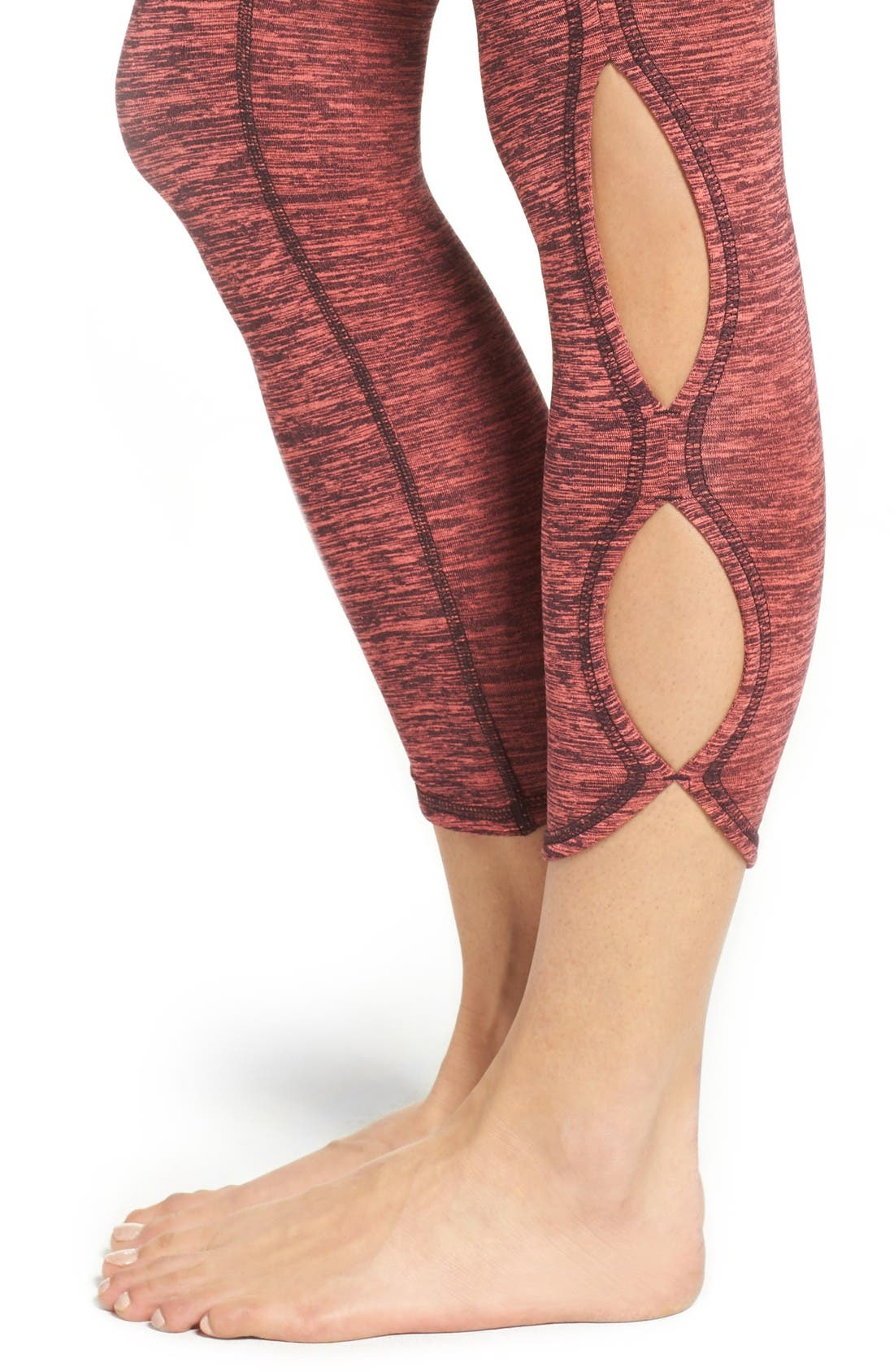 Alternate Image 4  - Free People FP Movement Infinity Cutout Crop Leggings