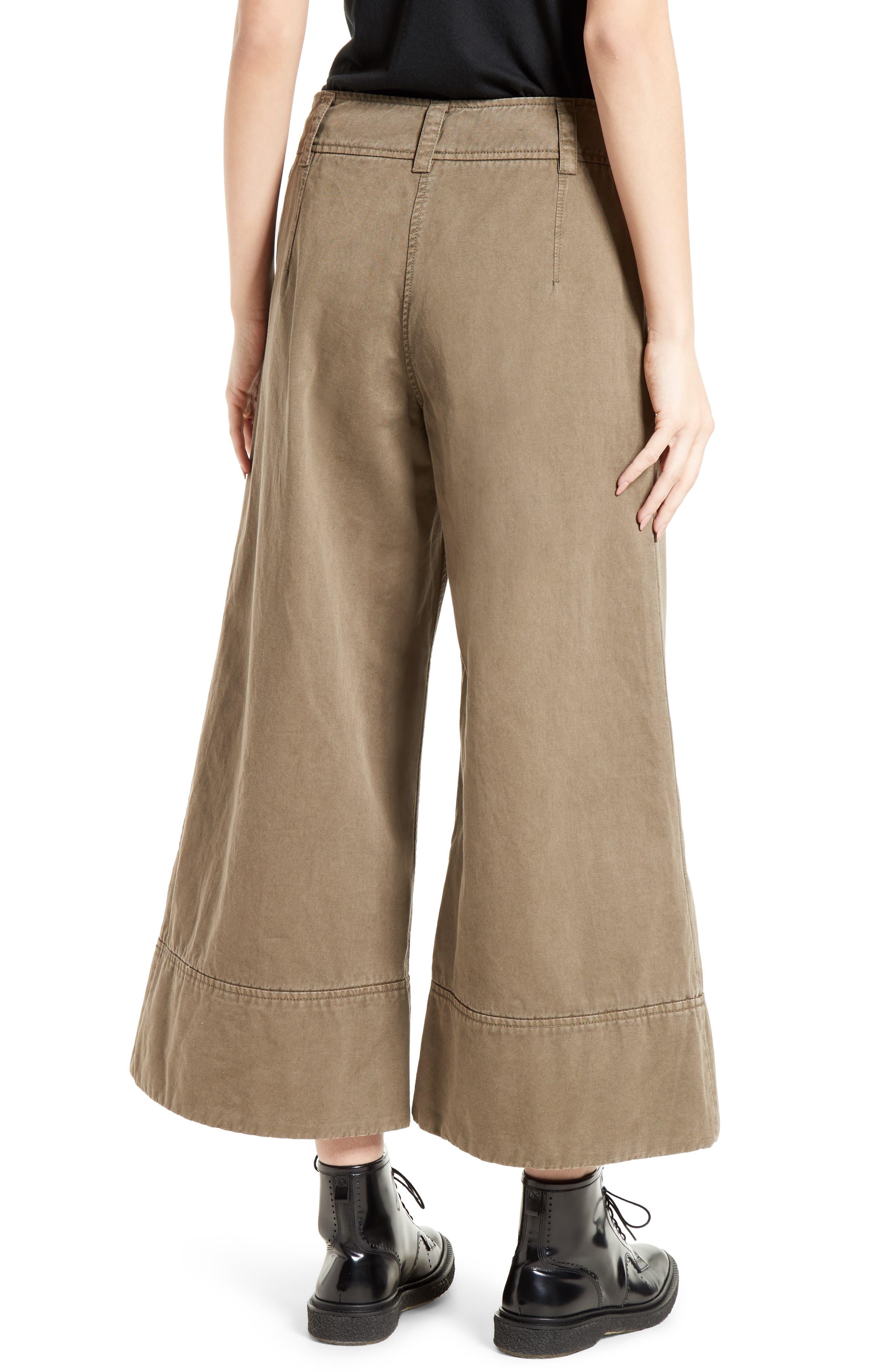 Alternate Image 2  - Cinq à Sept Knox Cotton Culottes