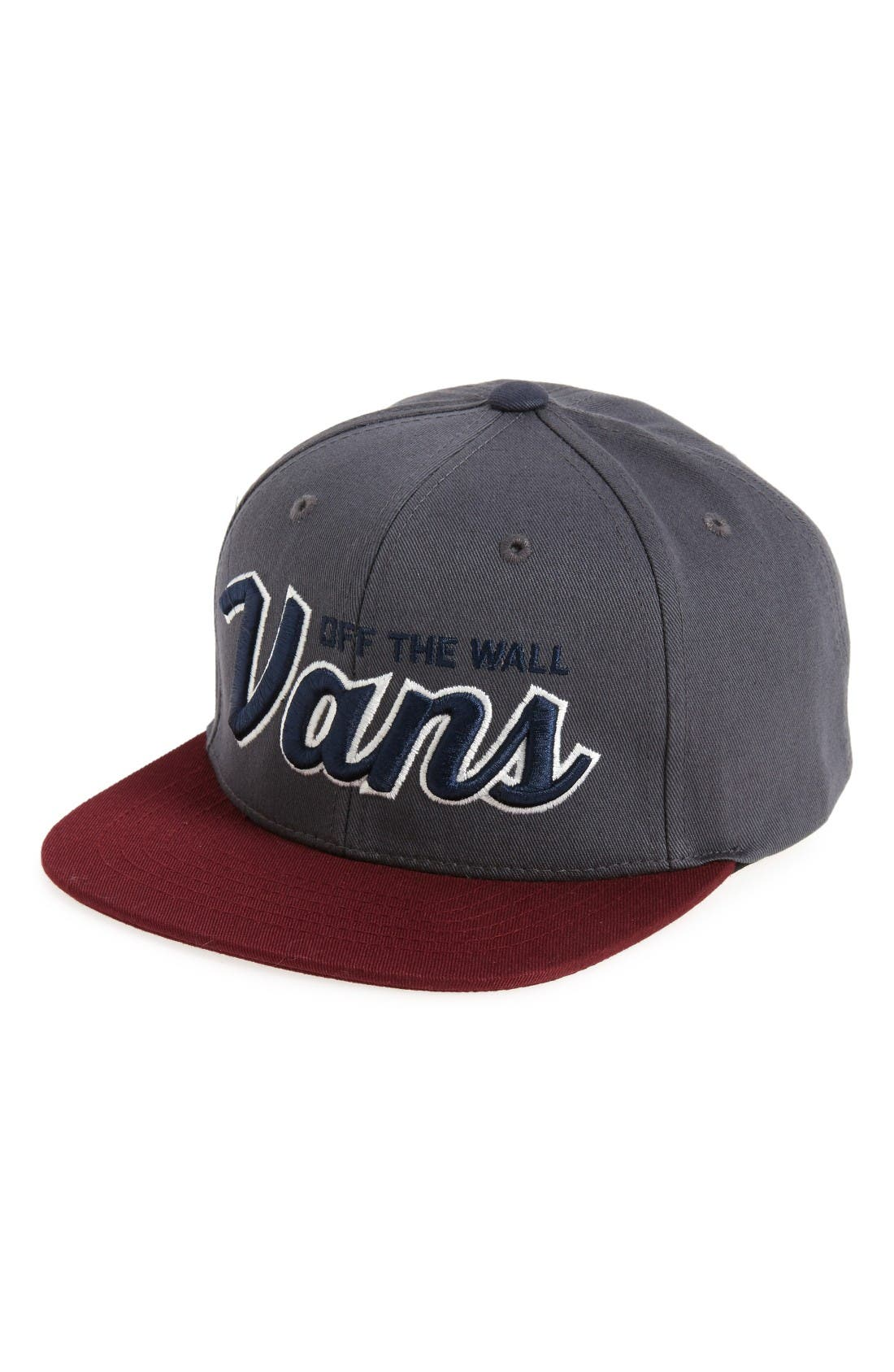 Vans Wilmington Snapback Hat (Big Boys)