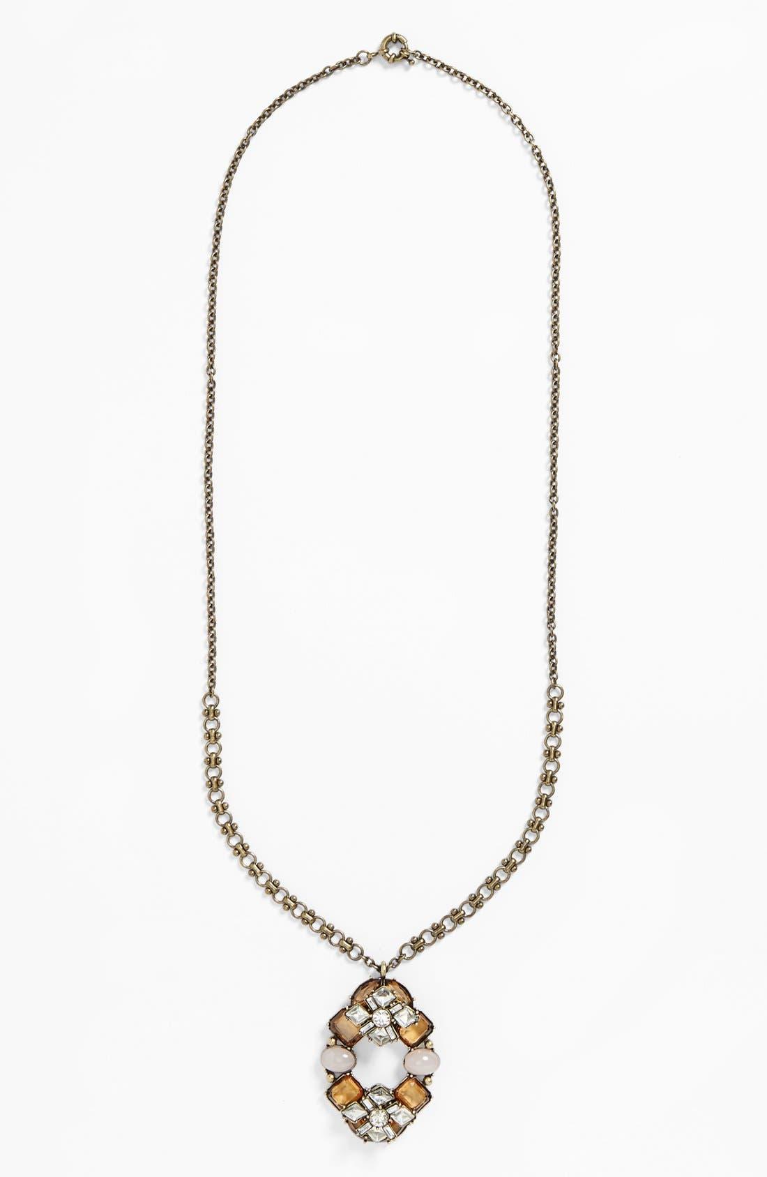 Alternate Image 2  - Missing Piece Cluster Pendant Drop Necklace