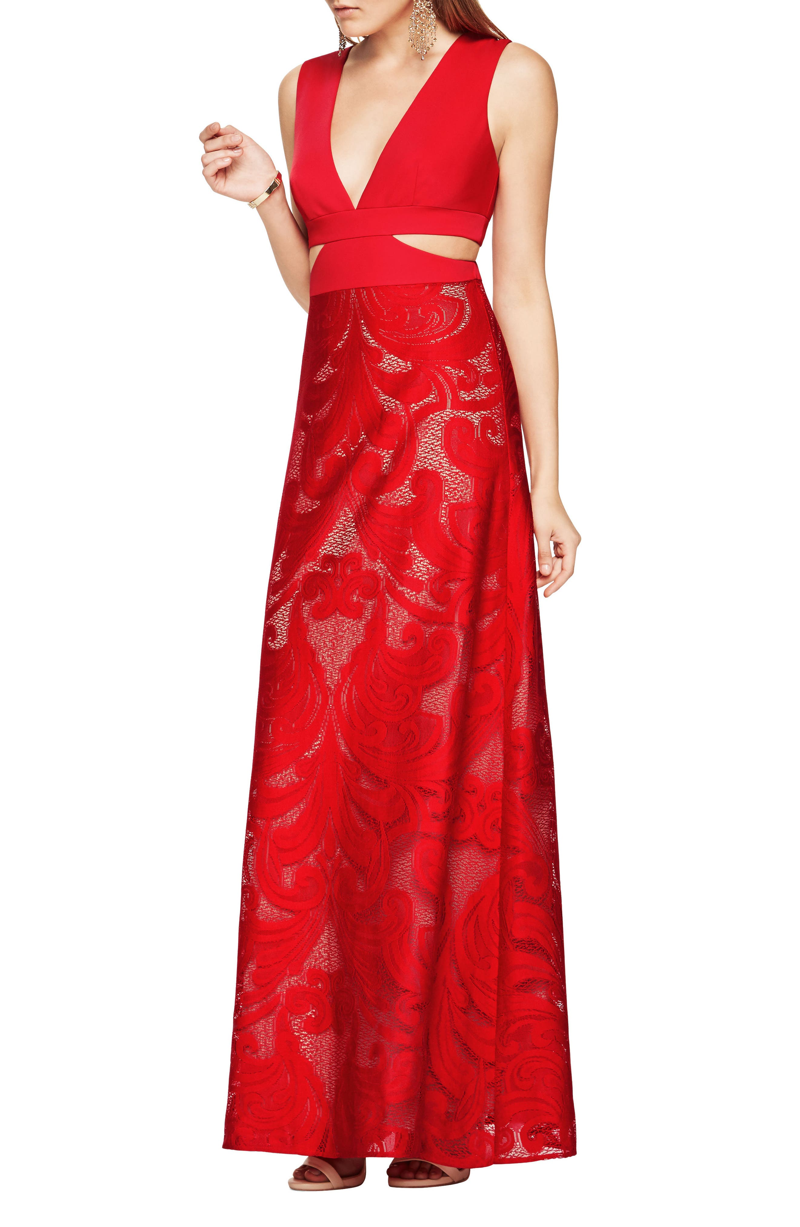 Alternate Image 1 Selected - BCBGMAXAZRIA Marilyne Gown