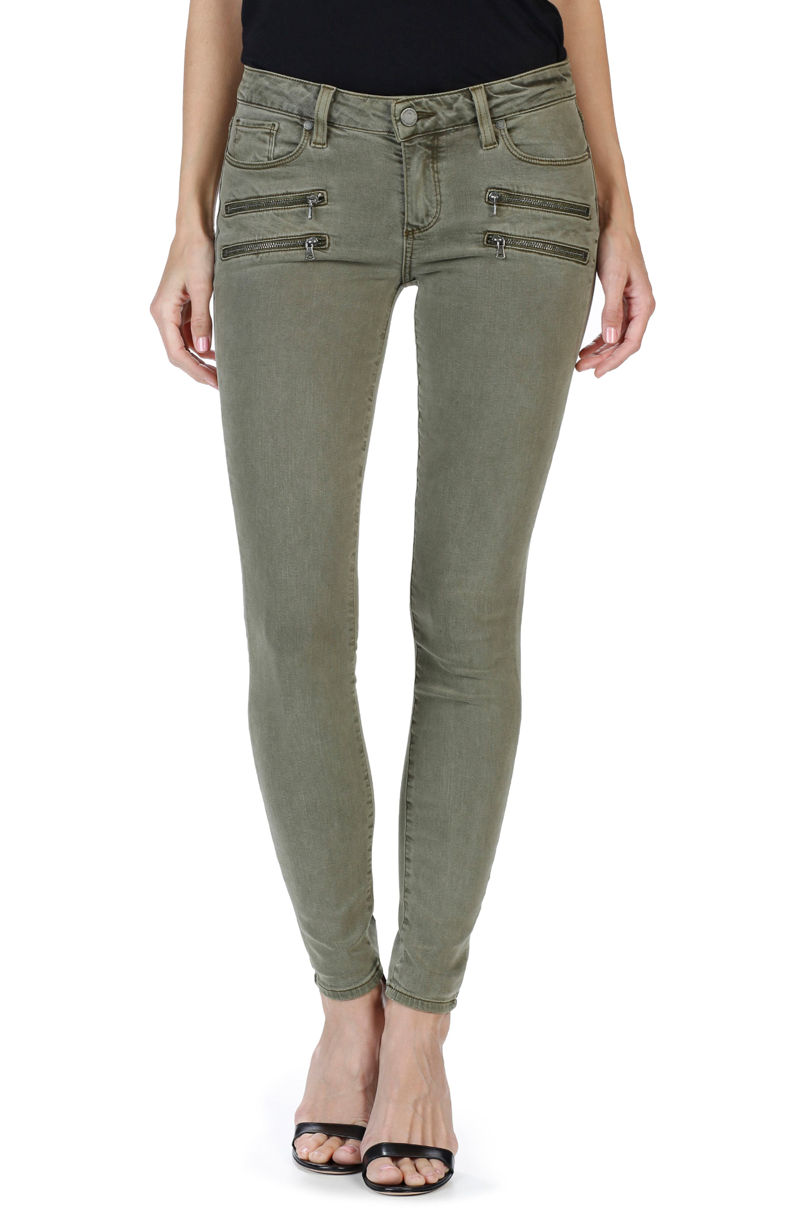 PAIGE Edgemont High Waist Ultra Skinny Jeans