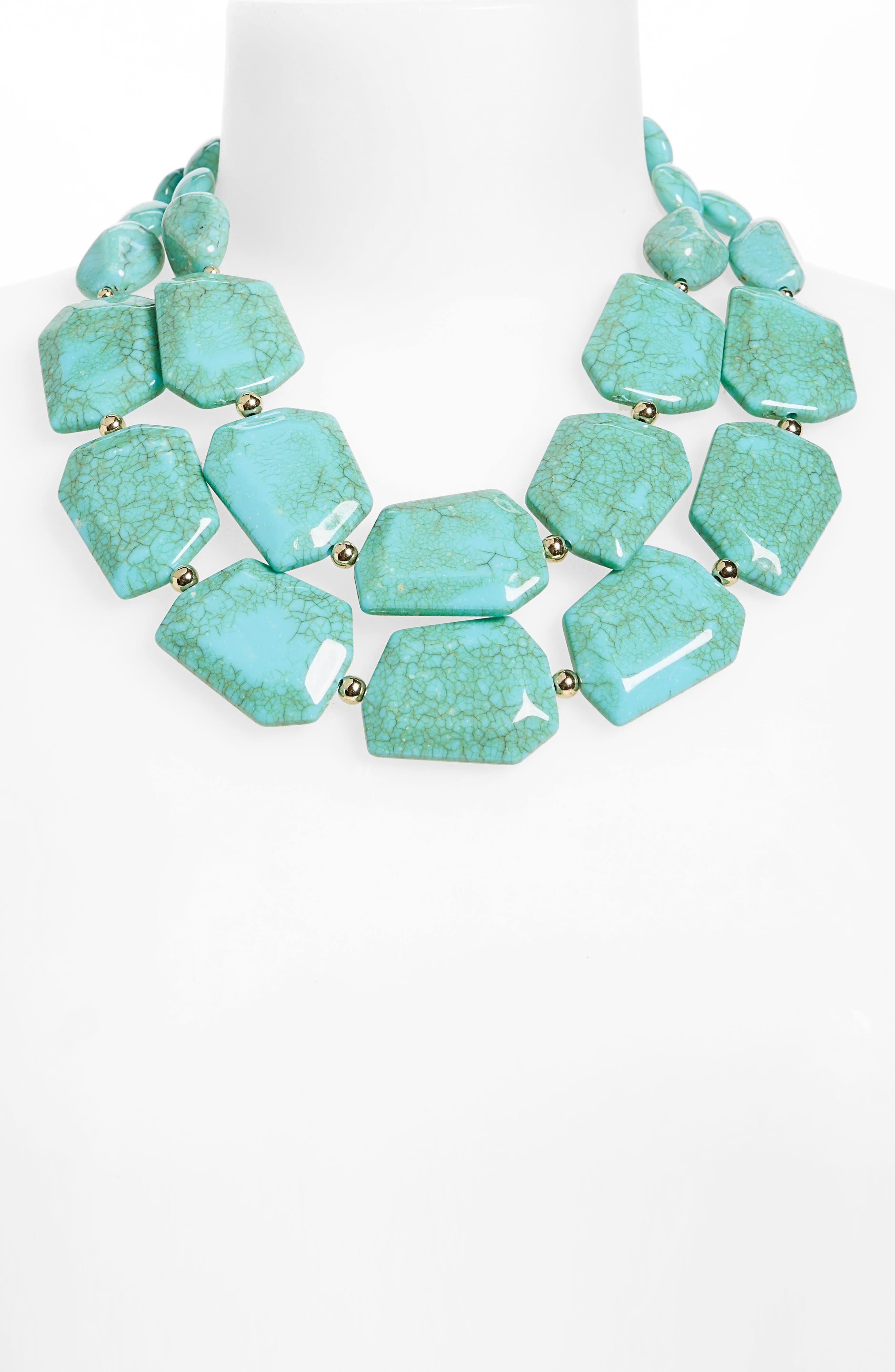 Alternate Image 2  - Natasha Couture Statement Collar Necklace