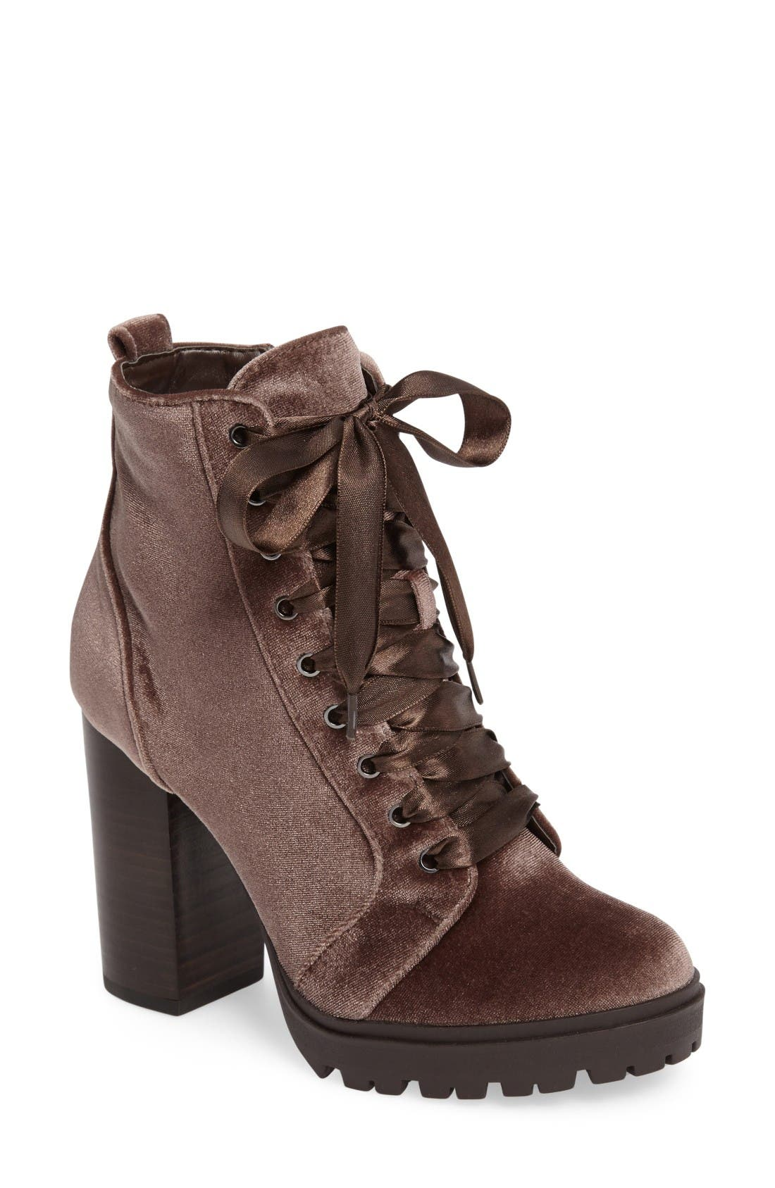 Alternate Image 1 Selected - Steve Madden Laurie Platform Bootie (Women)