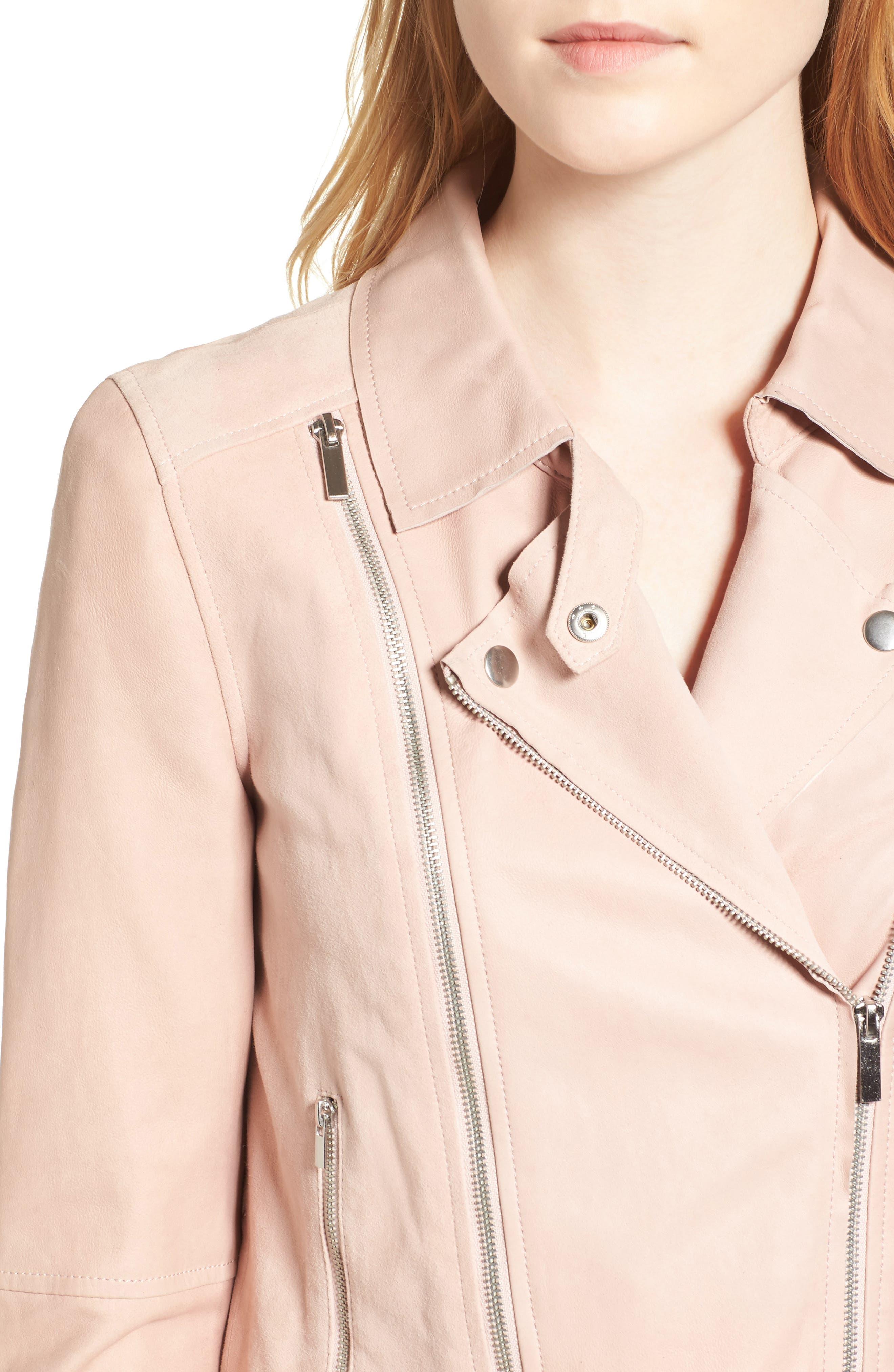 Alternate Image 5  - PAIGE Silvie Leather Moto Jacket