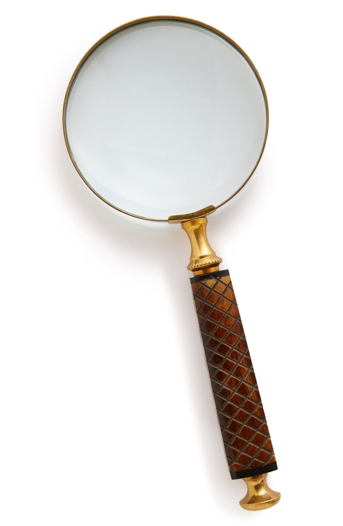 Main Image - Import Collection Carved Horn Handle Magnifying Glass