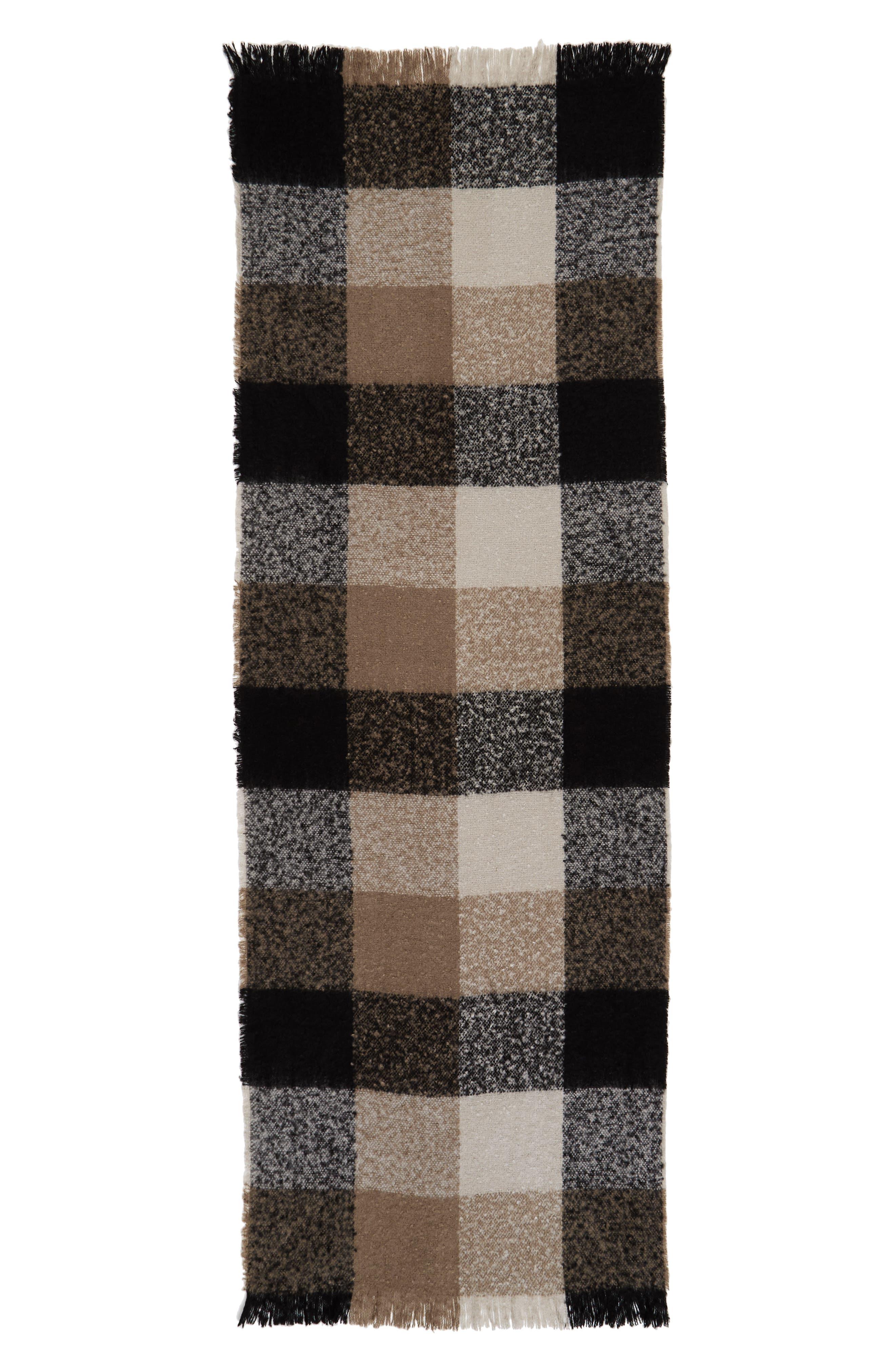 Alternate Image 2  - Sole Society Check Blanket Scarf