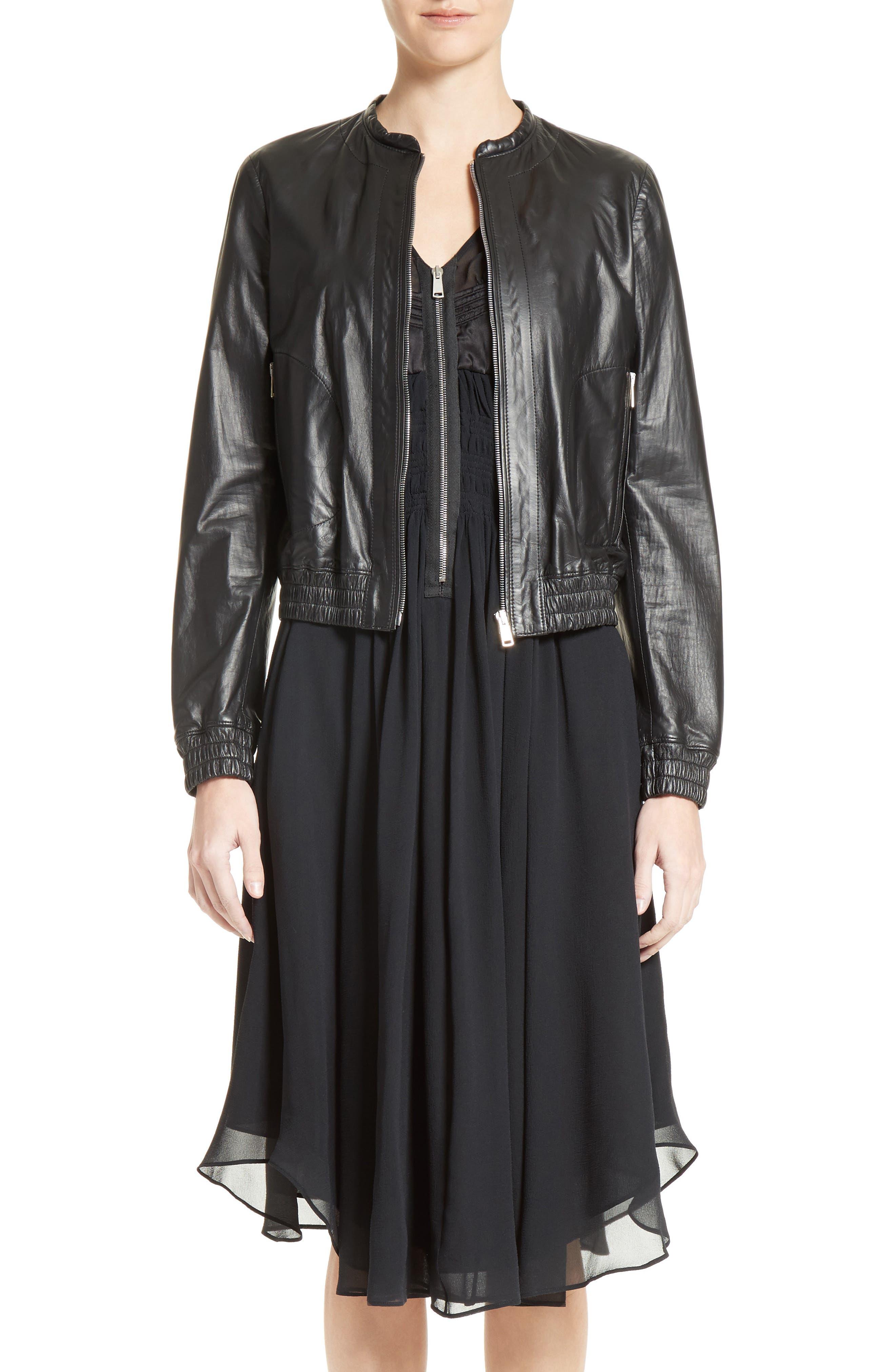 BELSTAFF Havana Leather Bomber Jacket