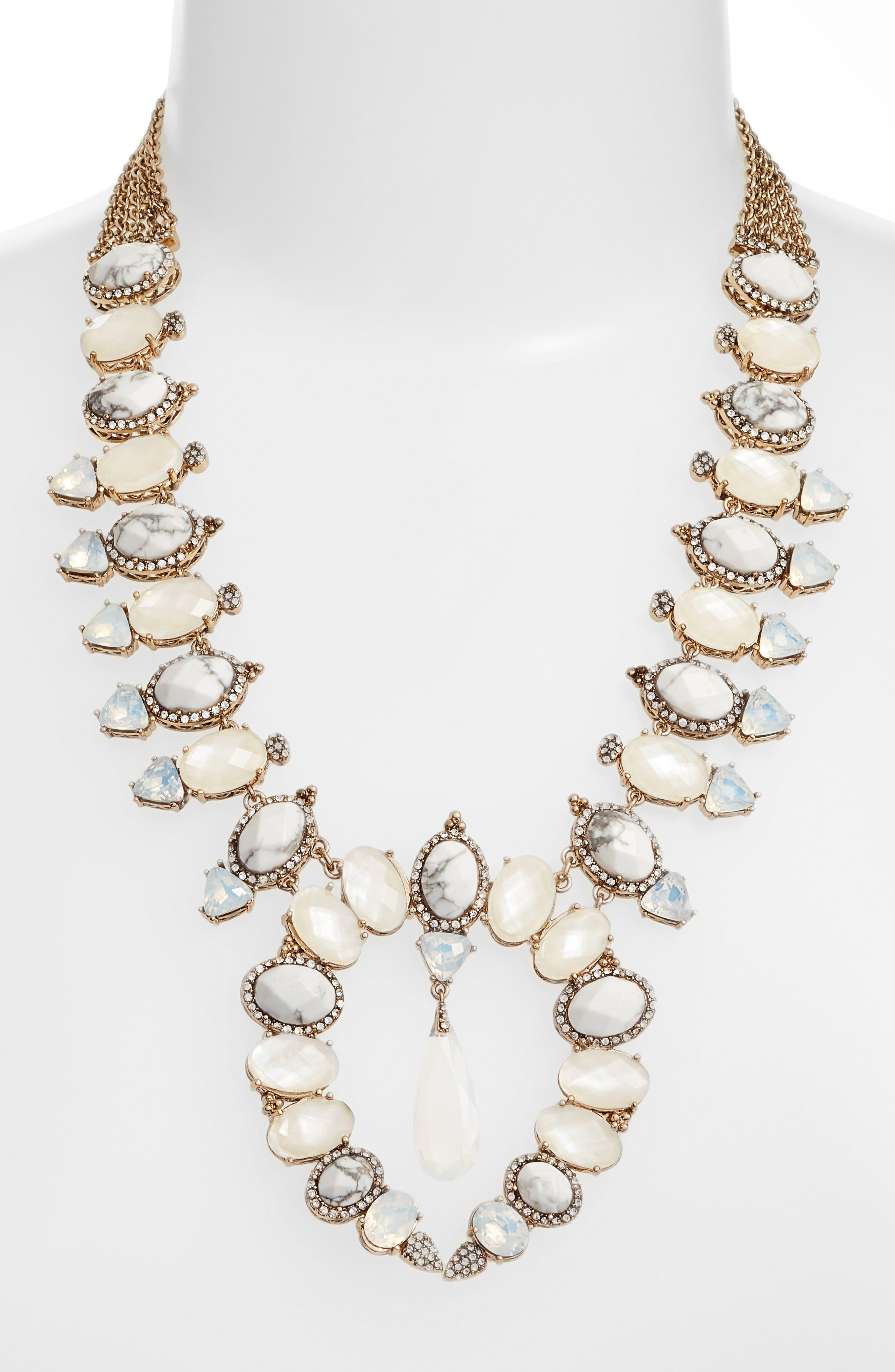 Alternate Image 2  - Jenny Packham Wanderlust Collar Necklace