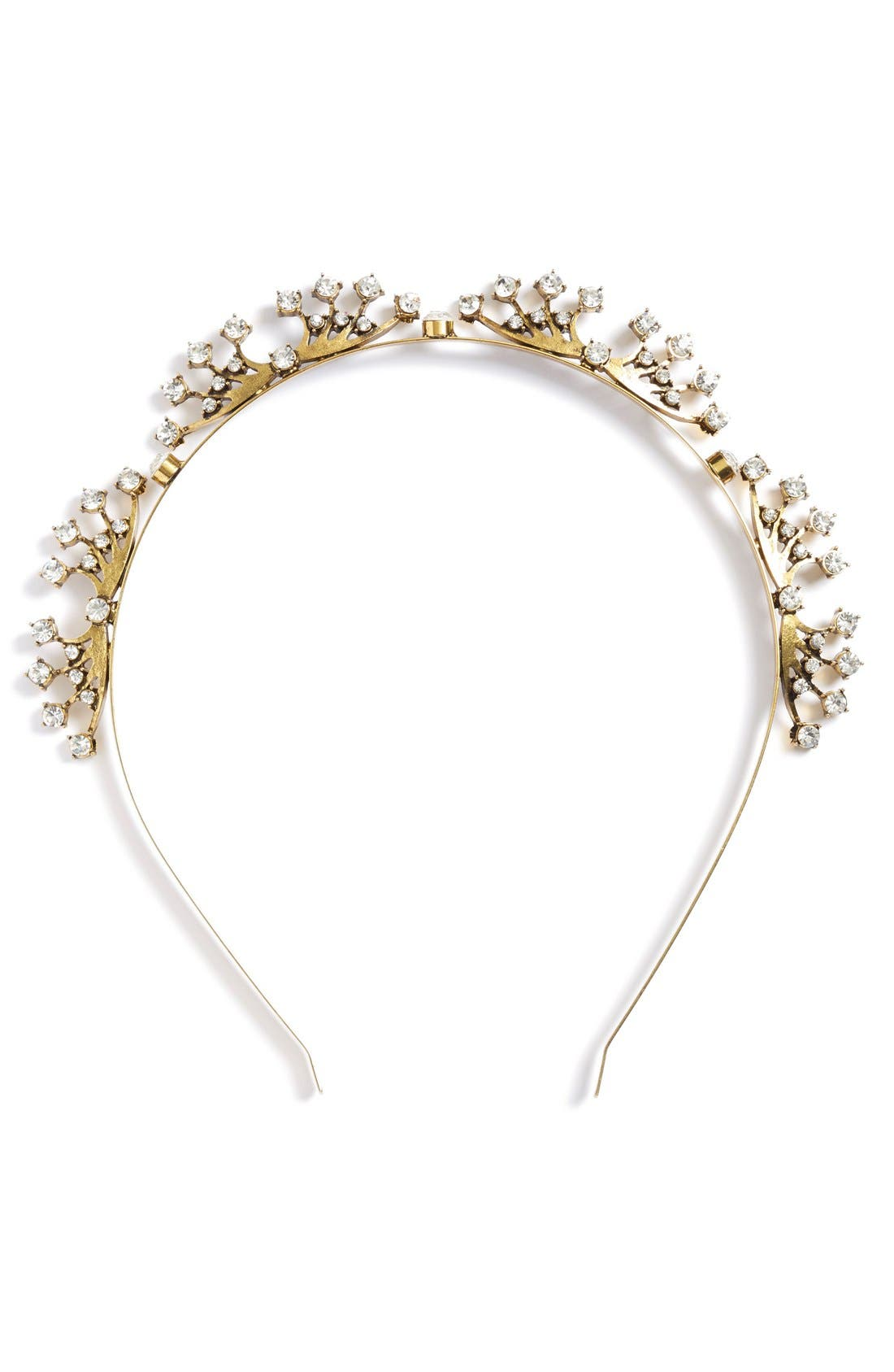 Alternate Image 3  - Untamed Petals by Amanda Judge x Meredith Markworth-Pollack 'Royal Tiara' Gilded Headband