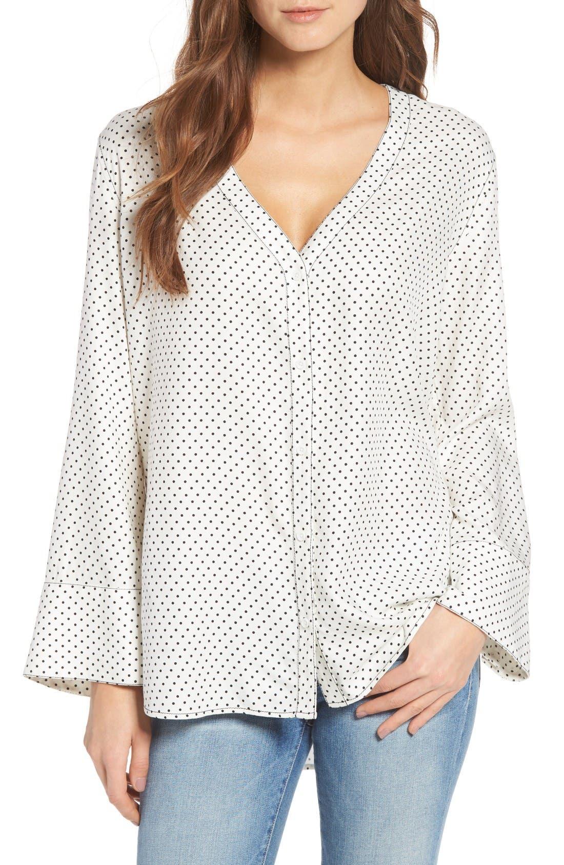 Main Image - Treasure & Bond Relaxed Pajama Shirt