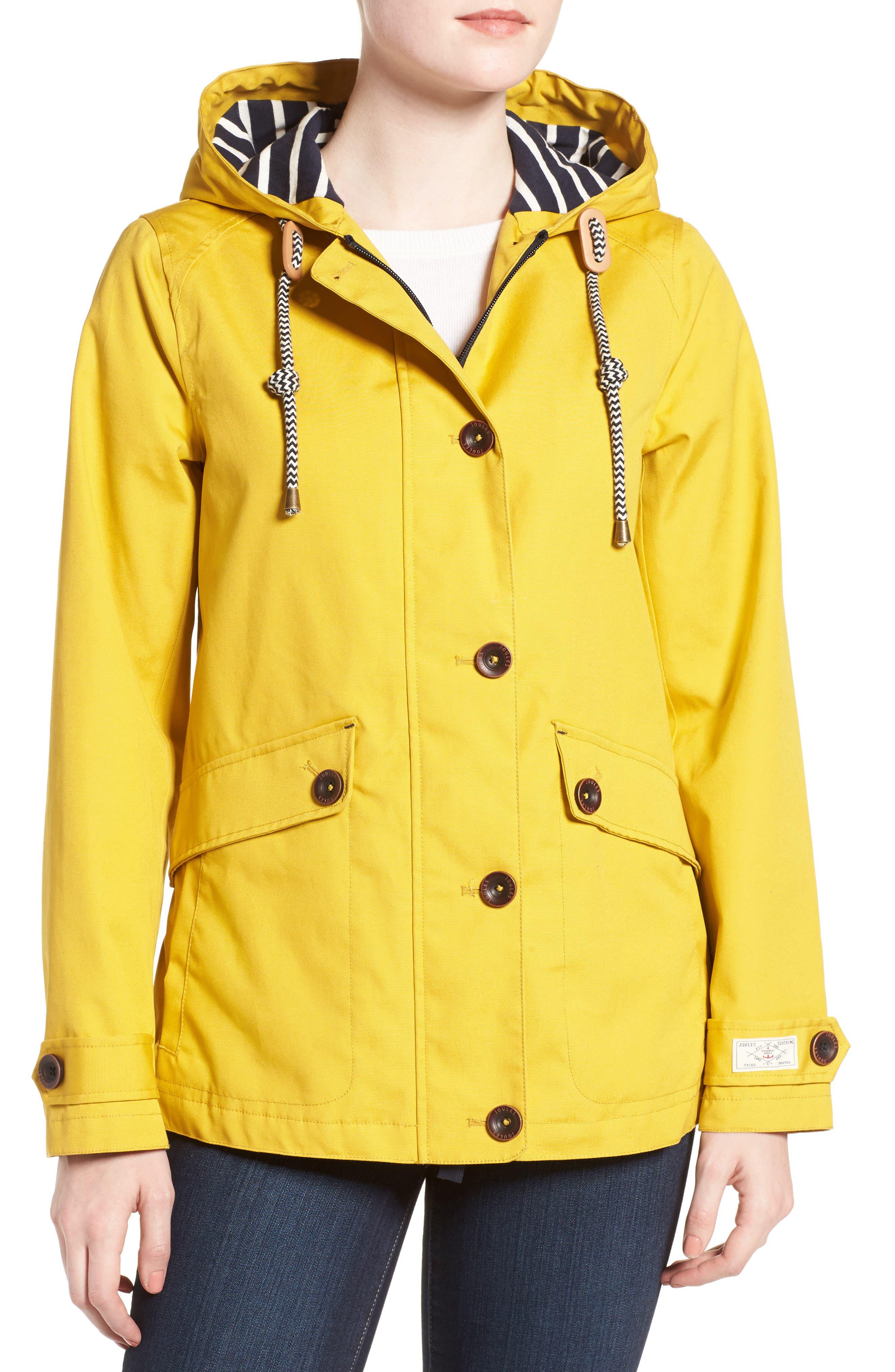 Alternate Image 5  - Joules Right as Rain Waterproof Hooded Jacket