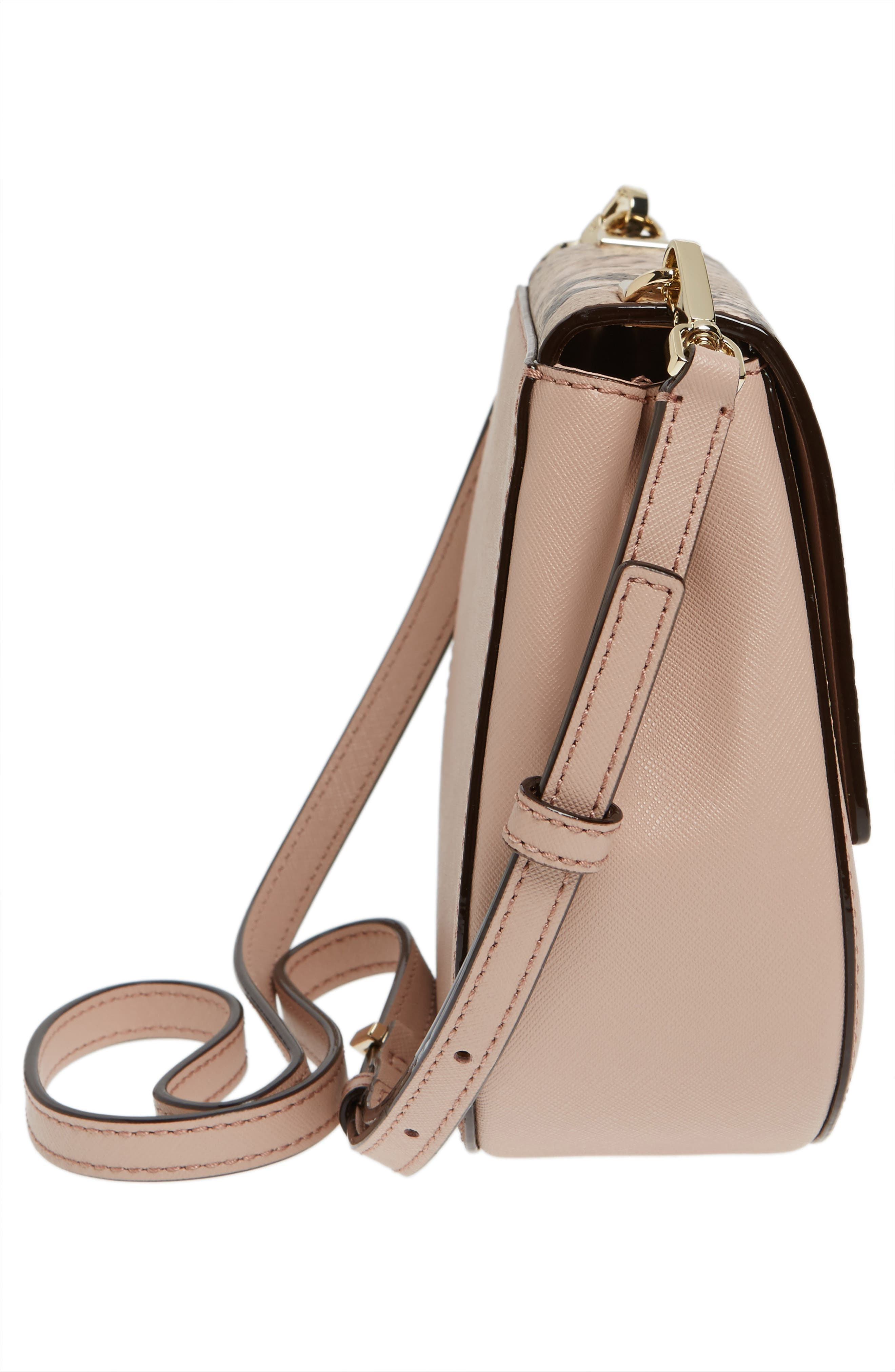 Alternate Image 5  - kate spade new york cameron street small byrdie leather saddle bag