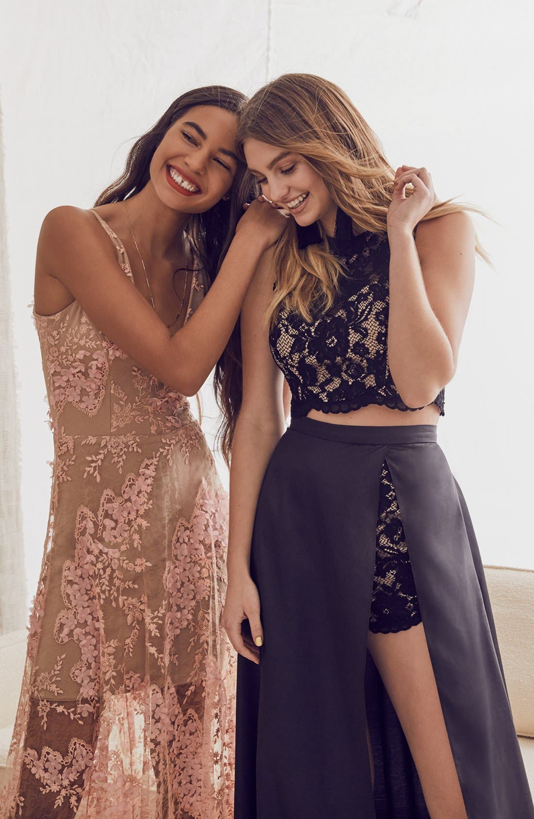 Alternate Image 8  - Xscape Lace & Taffeta Two-Piece Gown