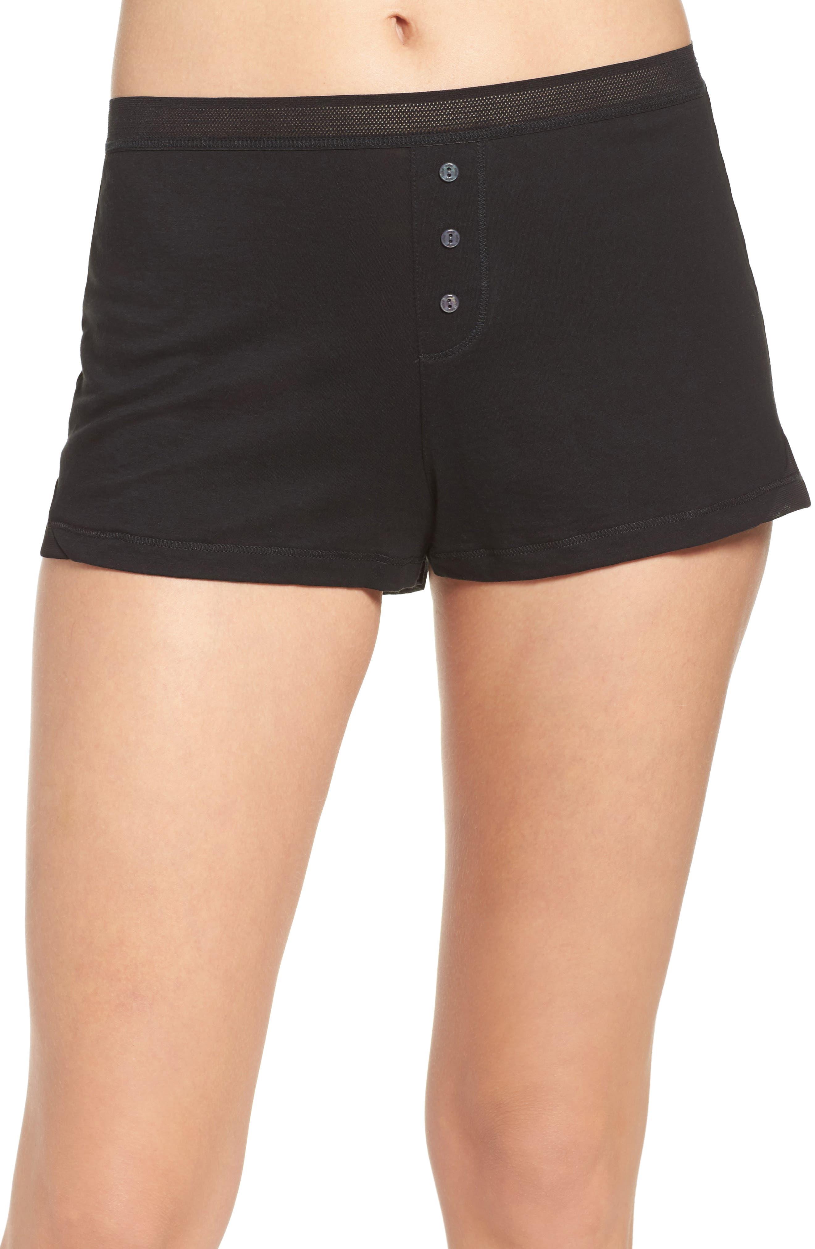 Naked Pima Cotton Sleep Shorts