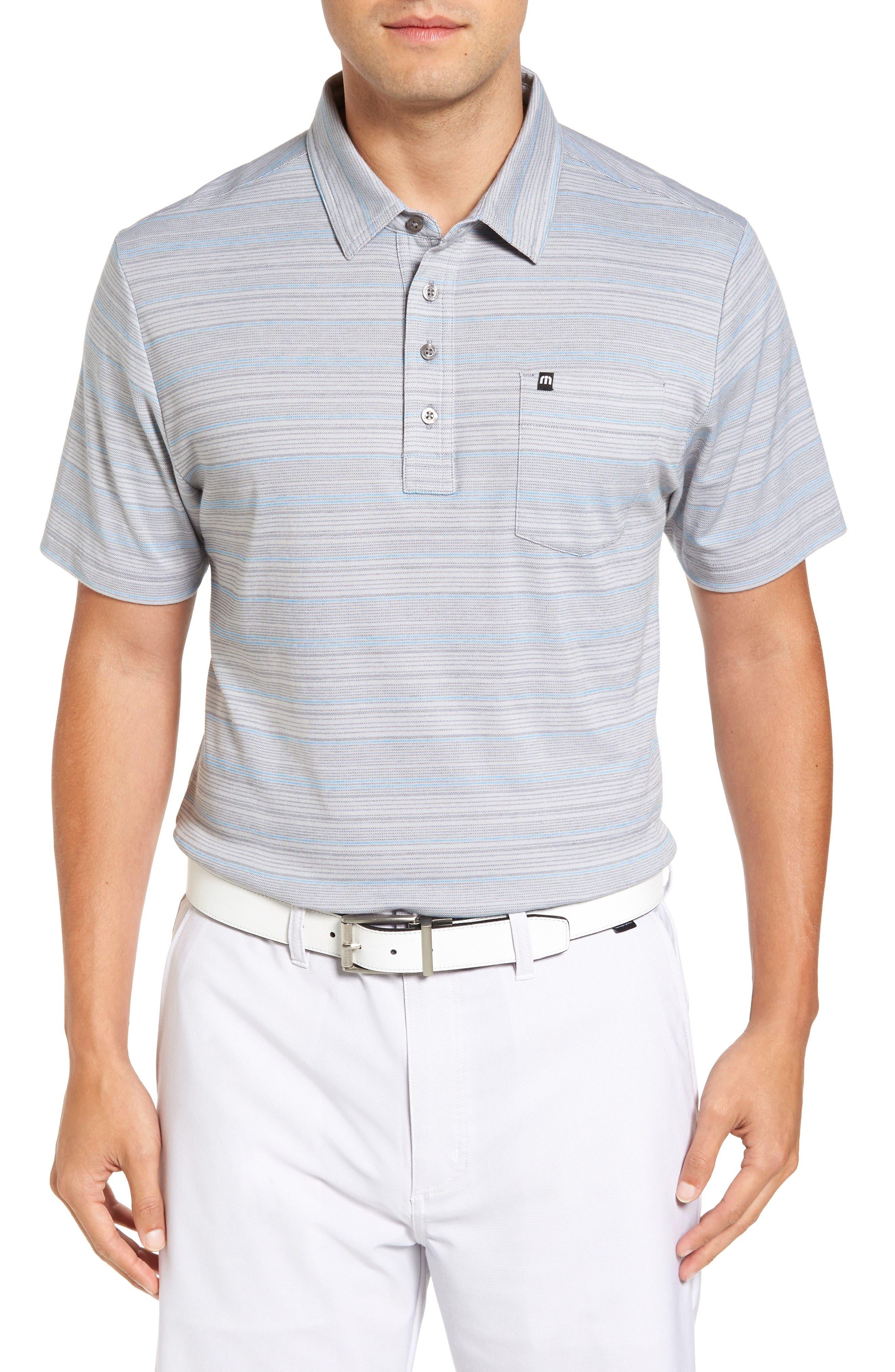TRAVIS MATHEW Kimm Slim Fit Wrinkle-Resistant Polo