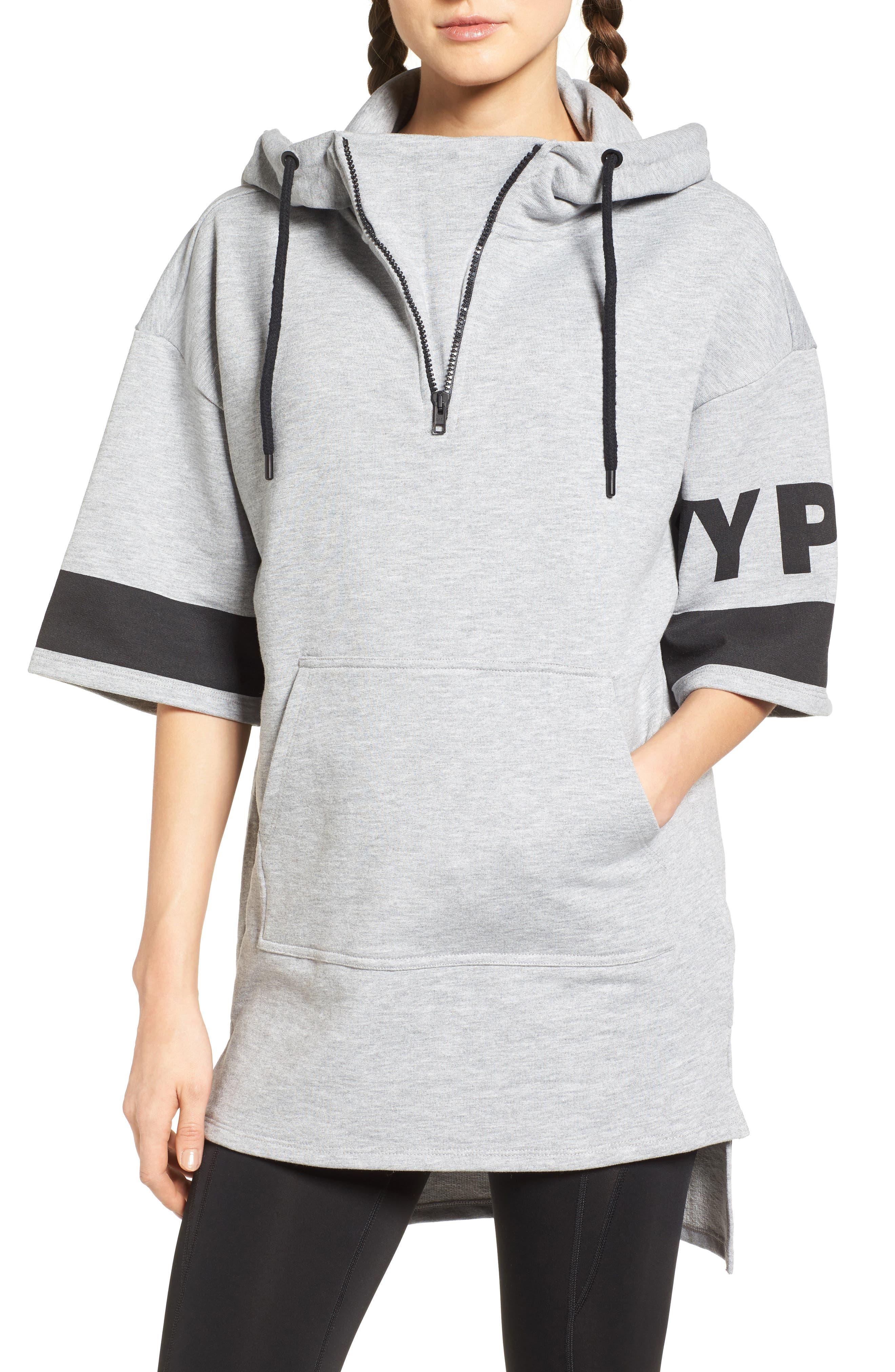 Alternate Image 1 Selected - IVY PARK® Logo Sleeve Hoodie