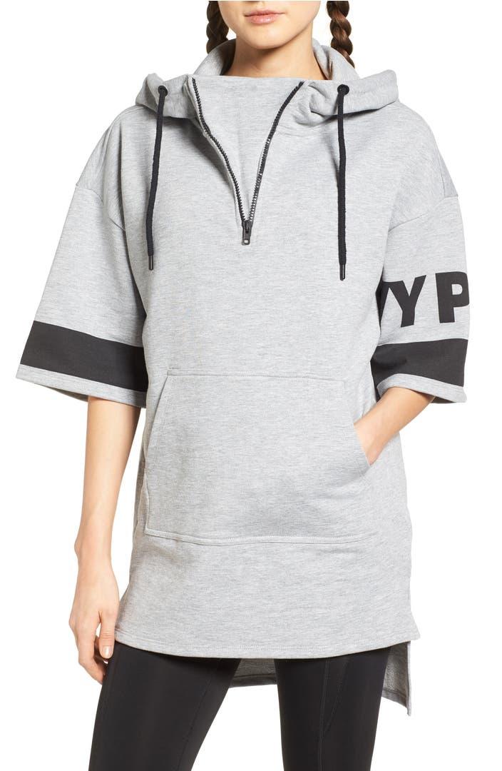 ivy park logo sleeve hoodie nordstrom. Black Bedroom Furniture Sets. Home Design Ideas