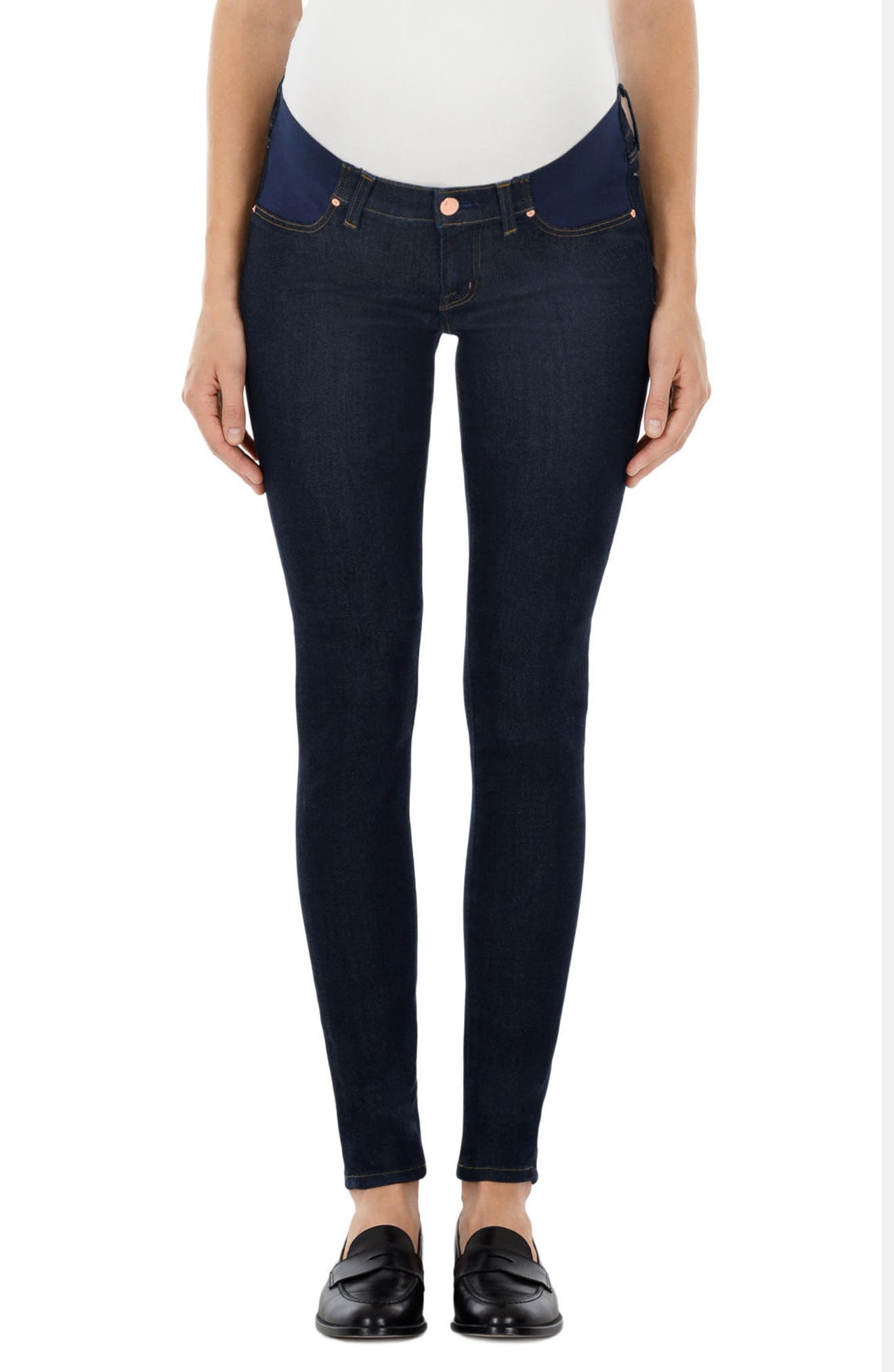 J Brand Mama J Super Skinny Maternity Jeans (After Dark)