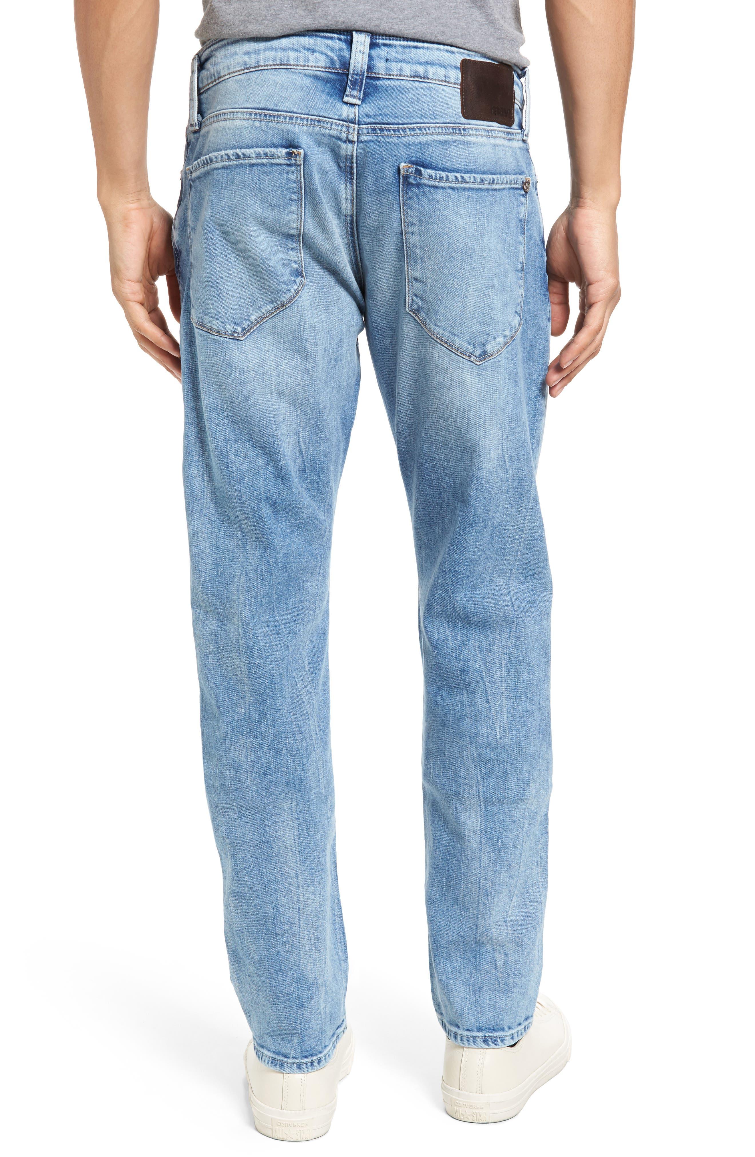 Alternate Image 2  - Mavi Jeans Jake Easy Slim Fit Jeans (Ripped)